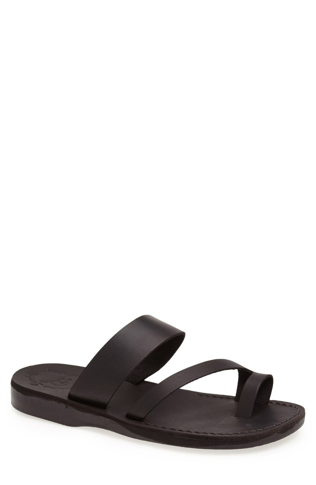 Jerusalem Sandals 'Zohar' Leather Sandal (Men)