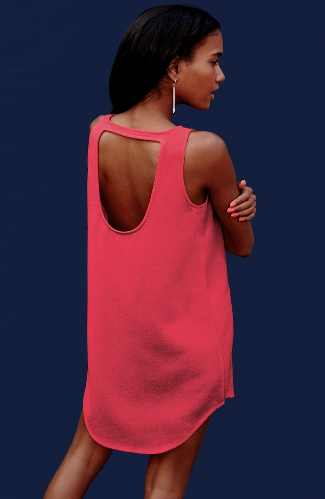 Alternate Image 5  - BB Dakota 'Mariam' Cutout Back Textured Dress