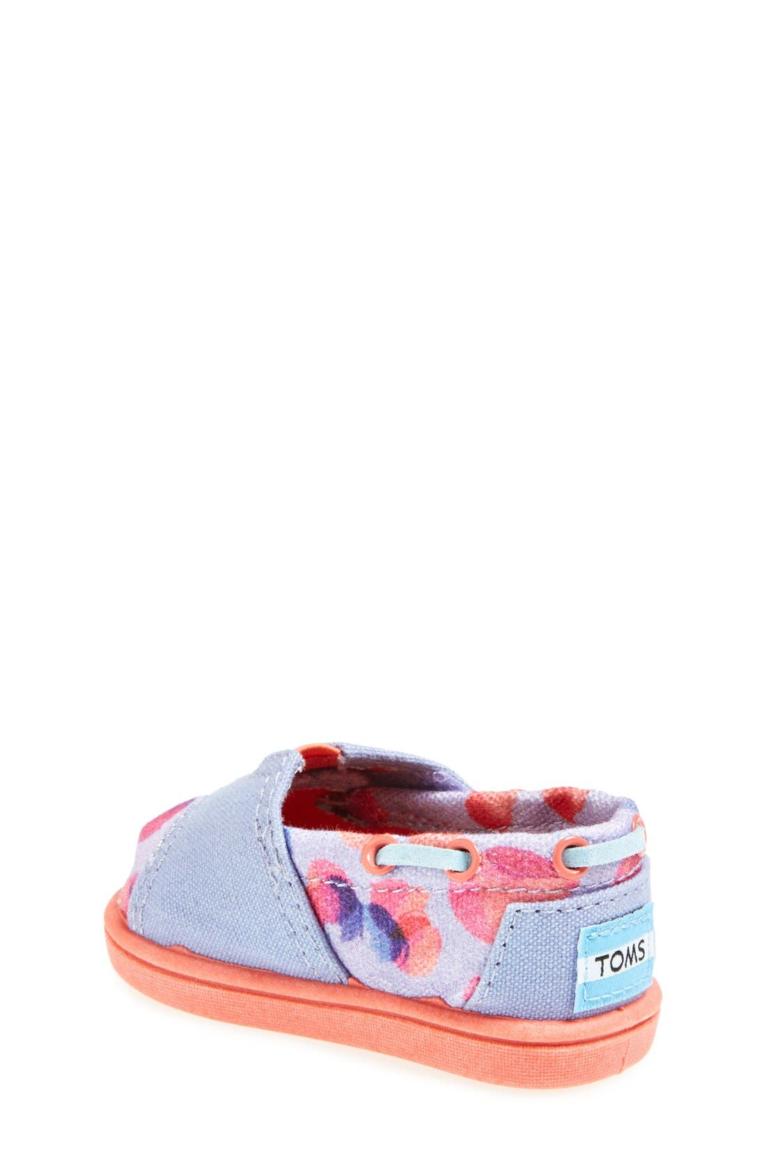 Alternate Image 2  - TOMS 'Bimini Tiny - Water Dot' Slip-On (Baby, Walker & Toddler)