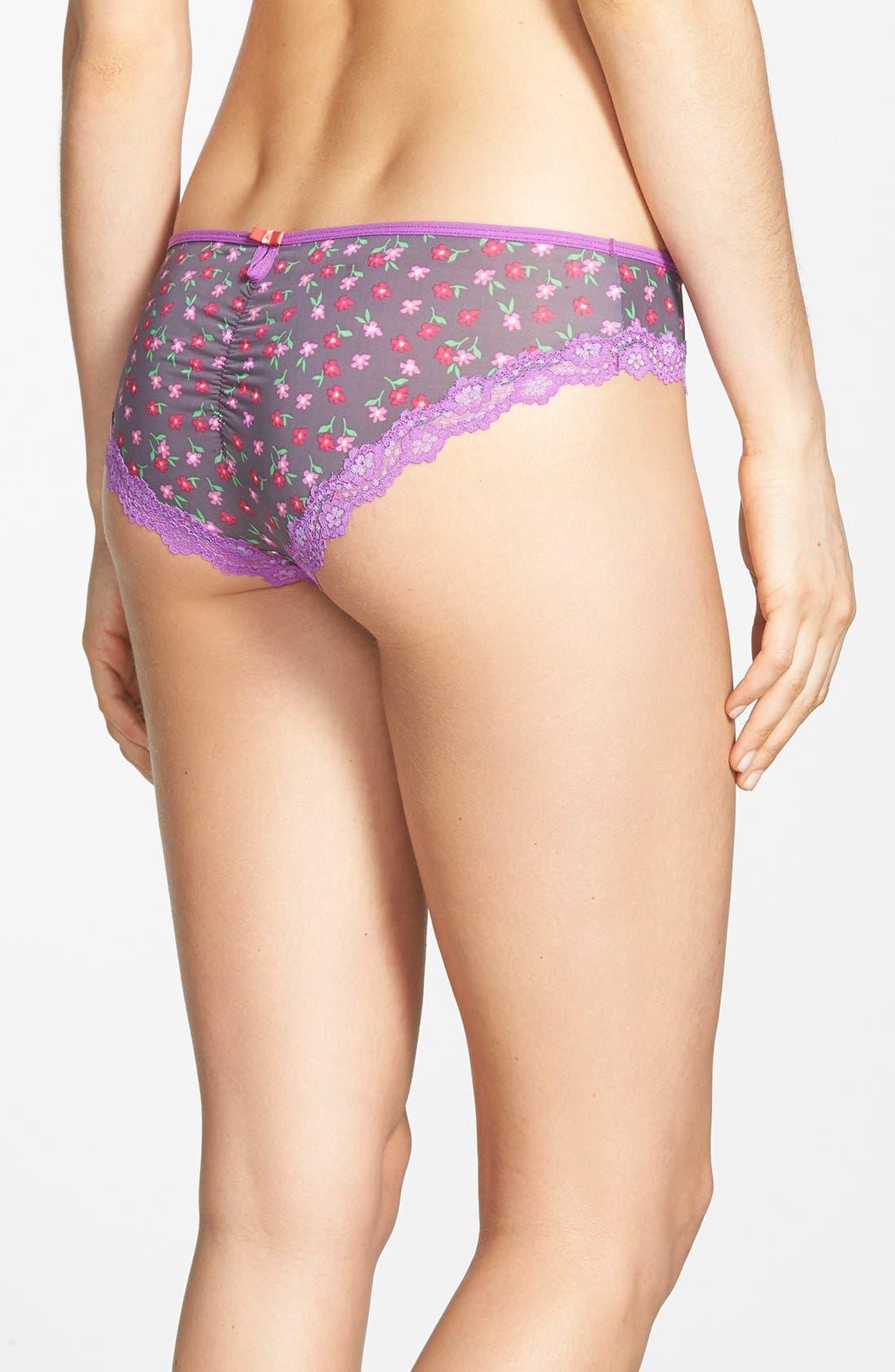 Alternate Image 2  - Honeydew Intimates 'Emily' Lace Trim Bikini