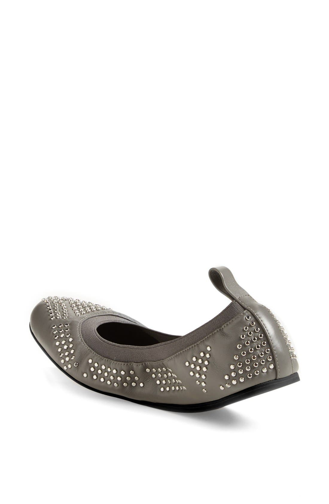 Alternate Image 2  - See by Chloé Studded Leather Ballet Flat (Nordstrom Exclusive) (Women)