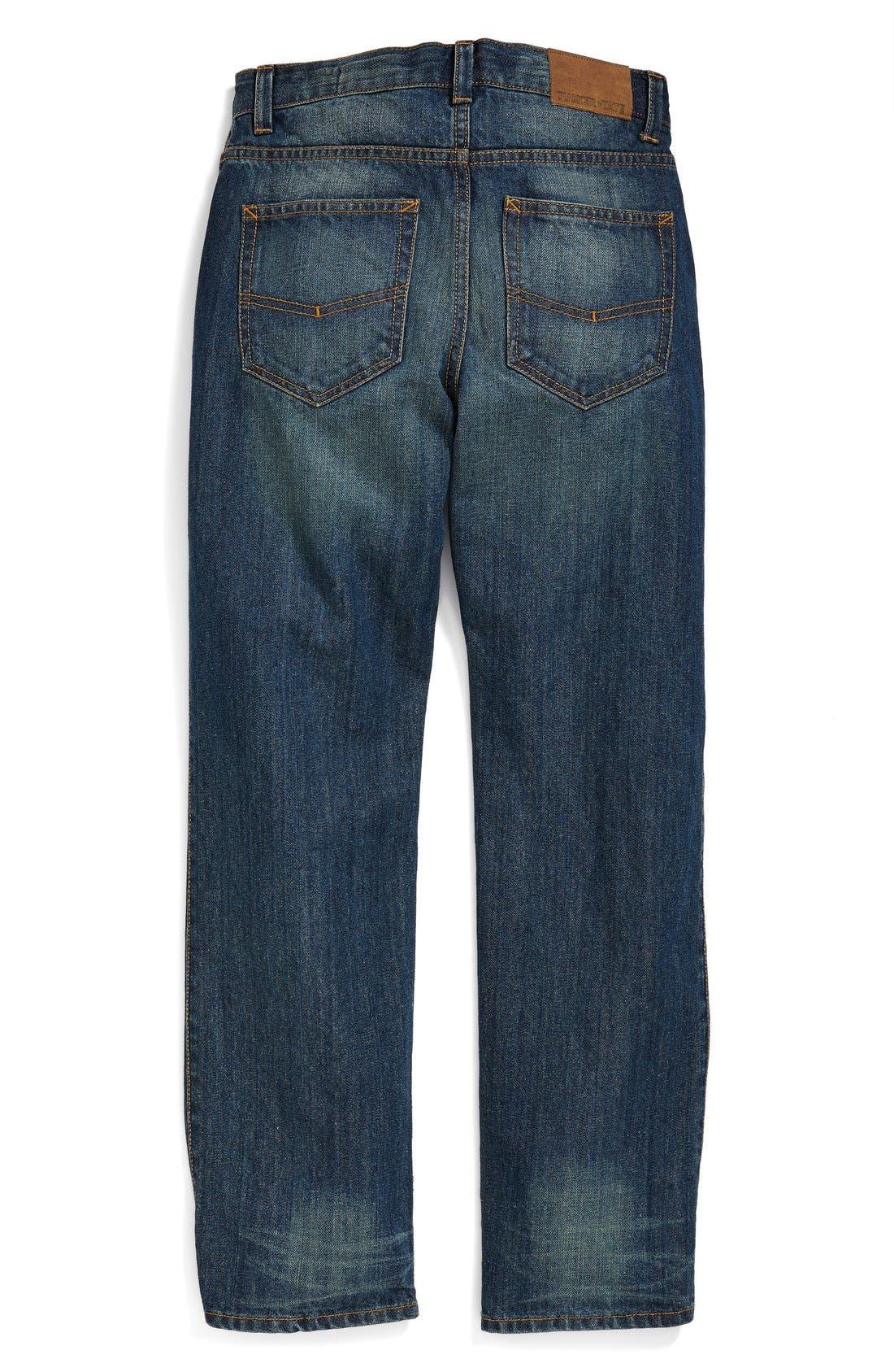 Alternate Image 2  - Tucker + Tate Straight Leg Jeans (Big Boys)