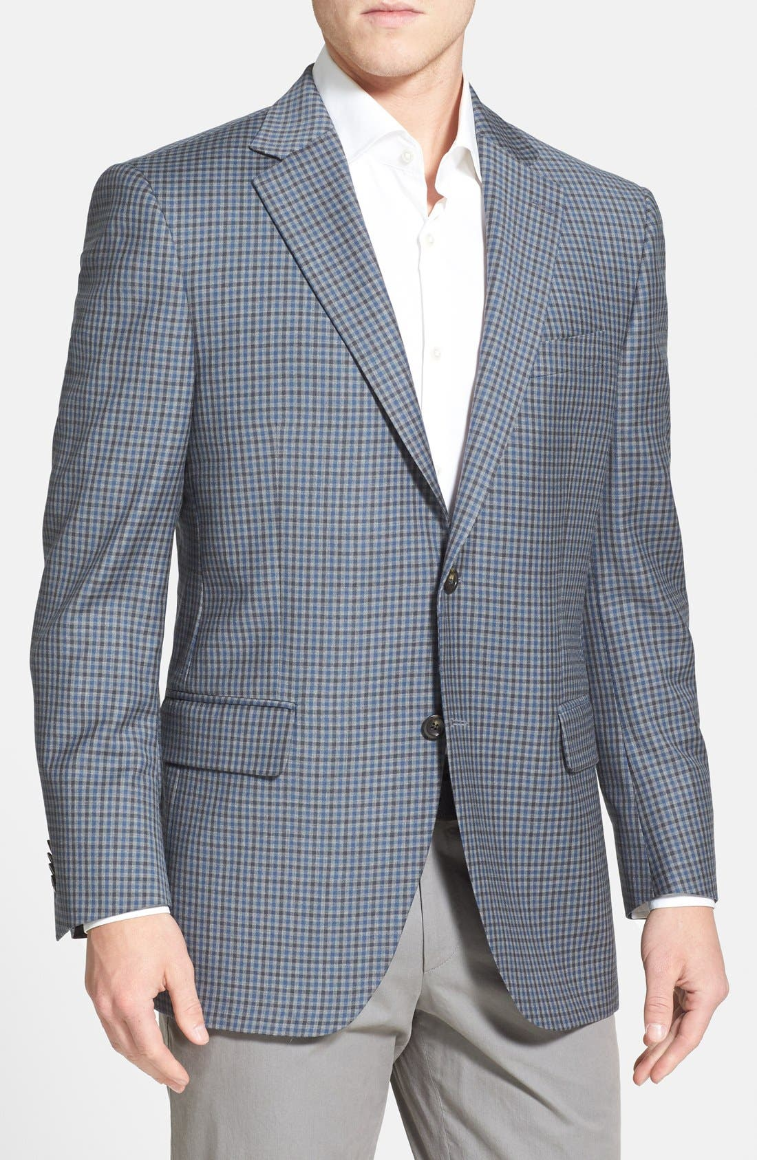 Alternate Image 1 Selected - Peter Millar 'Flynn' Classic Fit Check Sport Coat