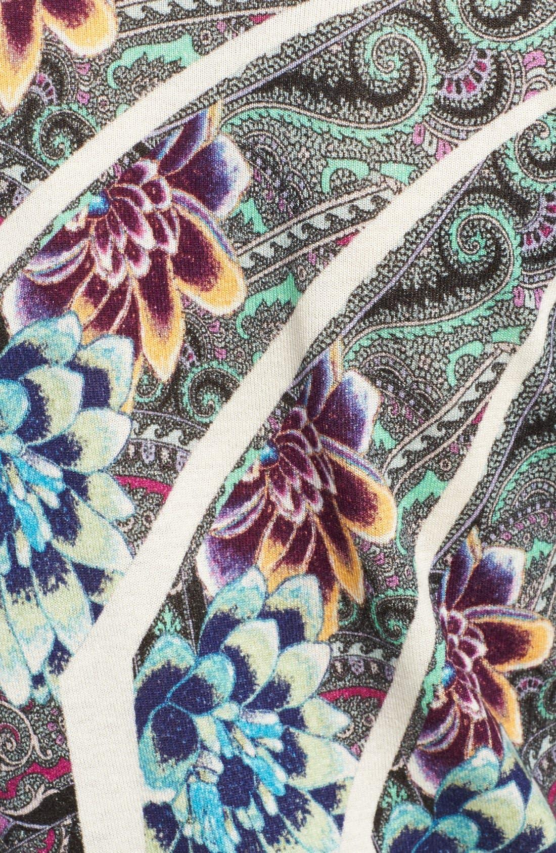 Alternate Image 5  - Etro Floral Mandala Print Silk & Cashmere Top