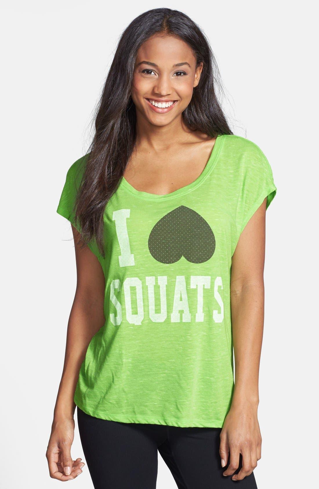 Main Image - Unit-Y 'I Heart Squats' Tee