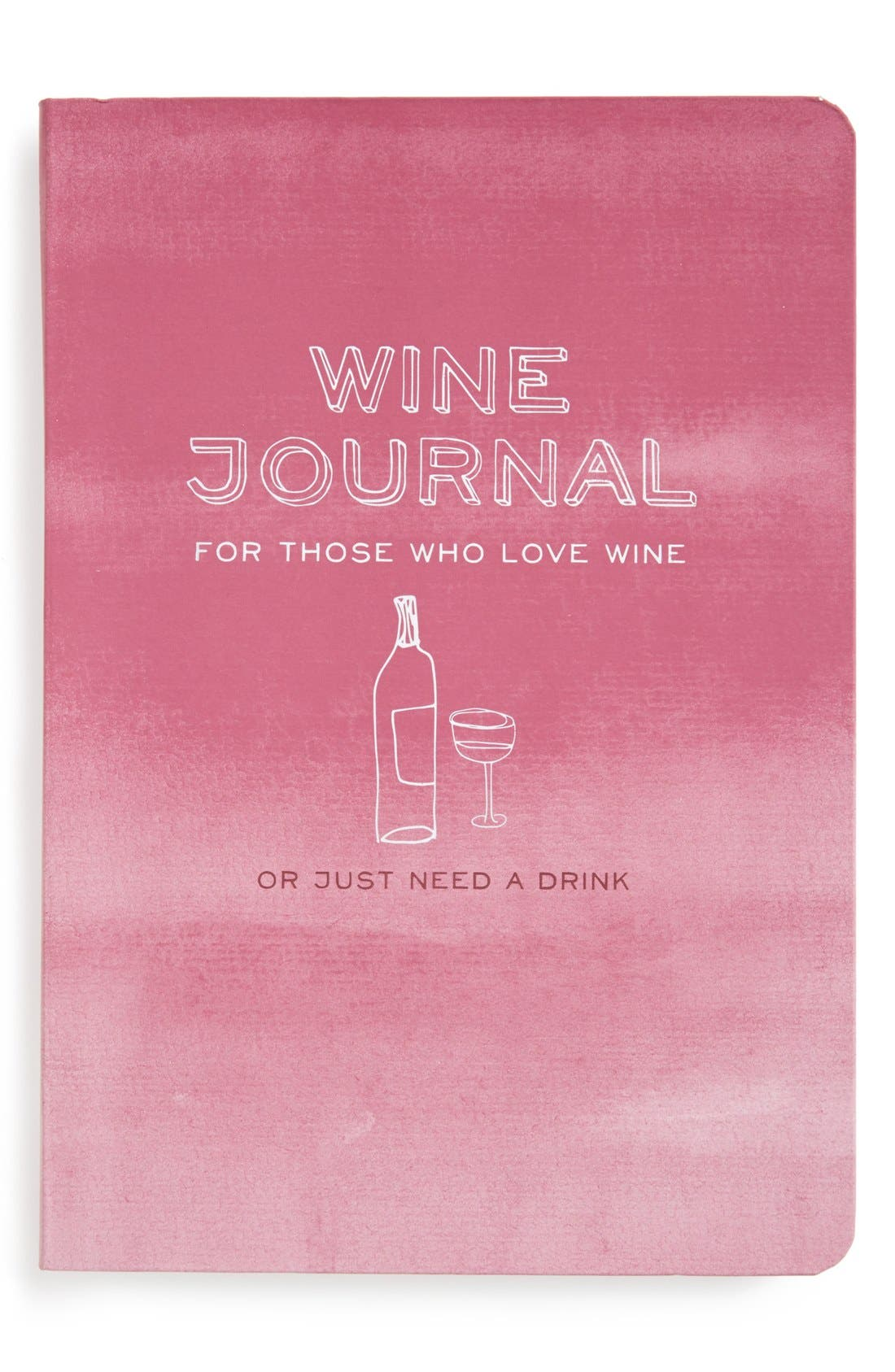 Main Image - Knock Knock 'Wine Journal: For Those Who Love Wine' Notebook