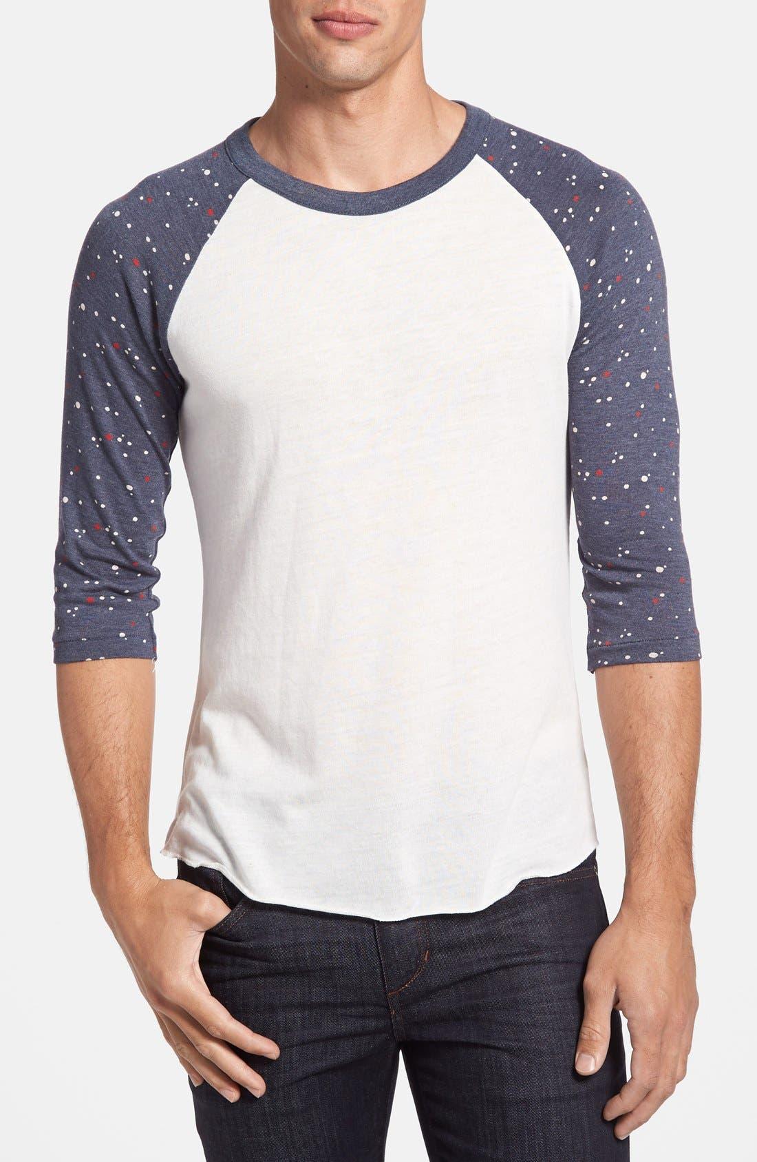 Alternate Image 1 Selected - Alternative 'USA Capsule Collection' Raglan Baseball T-Shirt