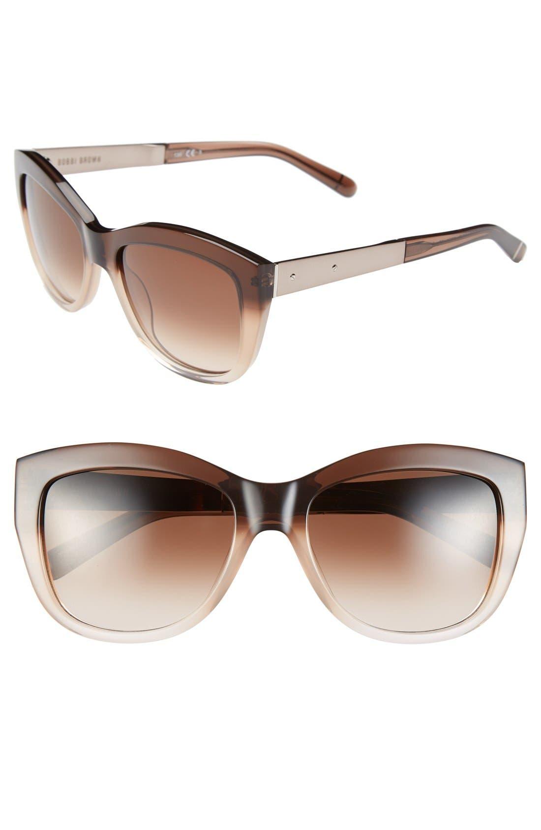 Alternate Image 1 Selected - Bobbi Brown 'The Graces' 54mm Cat Eye Sunglasses