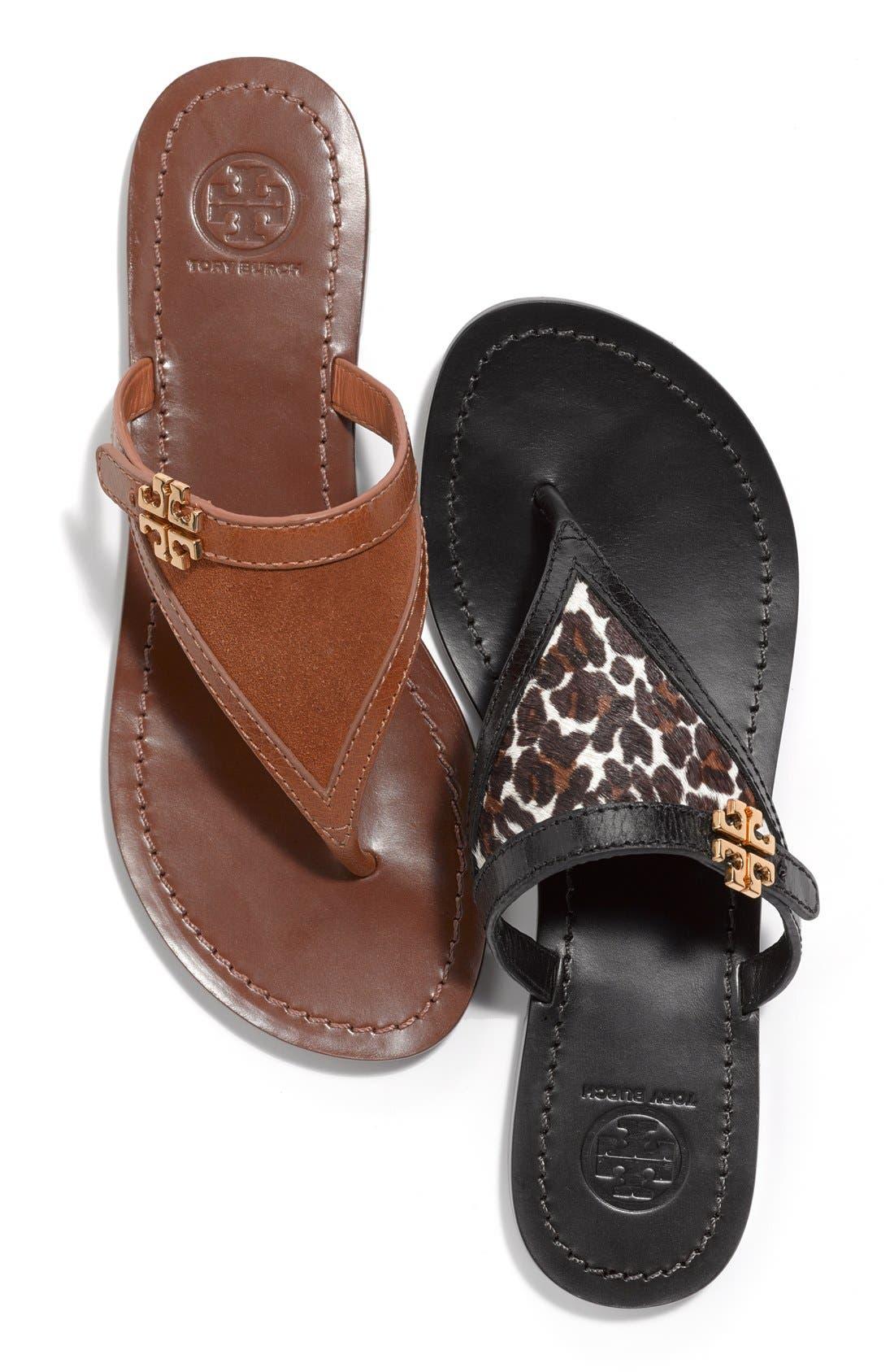 Alternate Image 6  - Tory Burch 'Eloise' Flat Thong Sandal (Nordstrom Exclusive) (Women)
