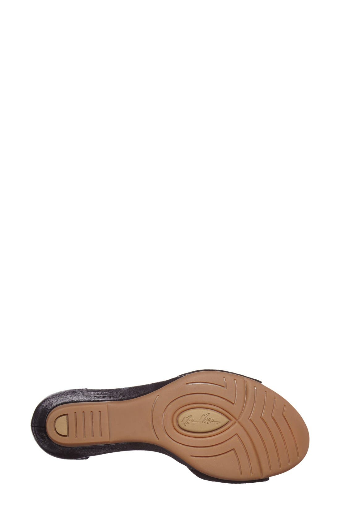 Alternate Image 4  - Miz Mooz 'Carmen' Leather Wedge Sandal (Women)(Special Purchase)