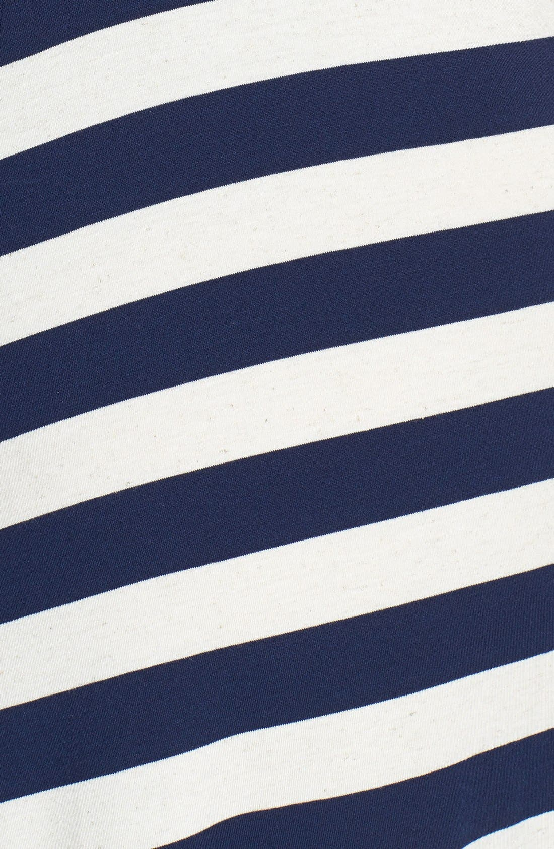 Alternate Image 3  - Lucky Brand Chevron Stripe Maxi Dress (Plus Size)