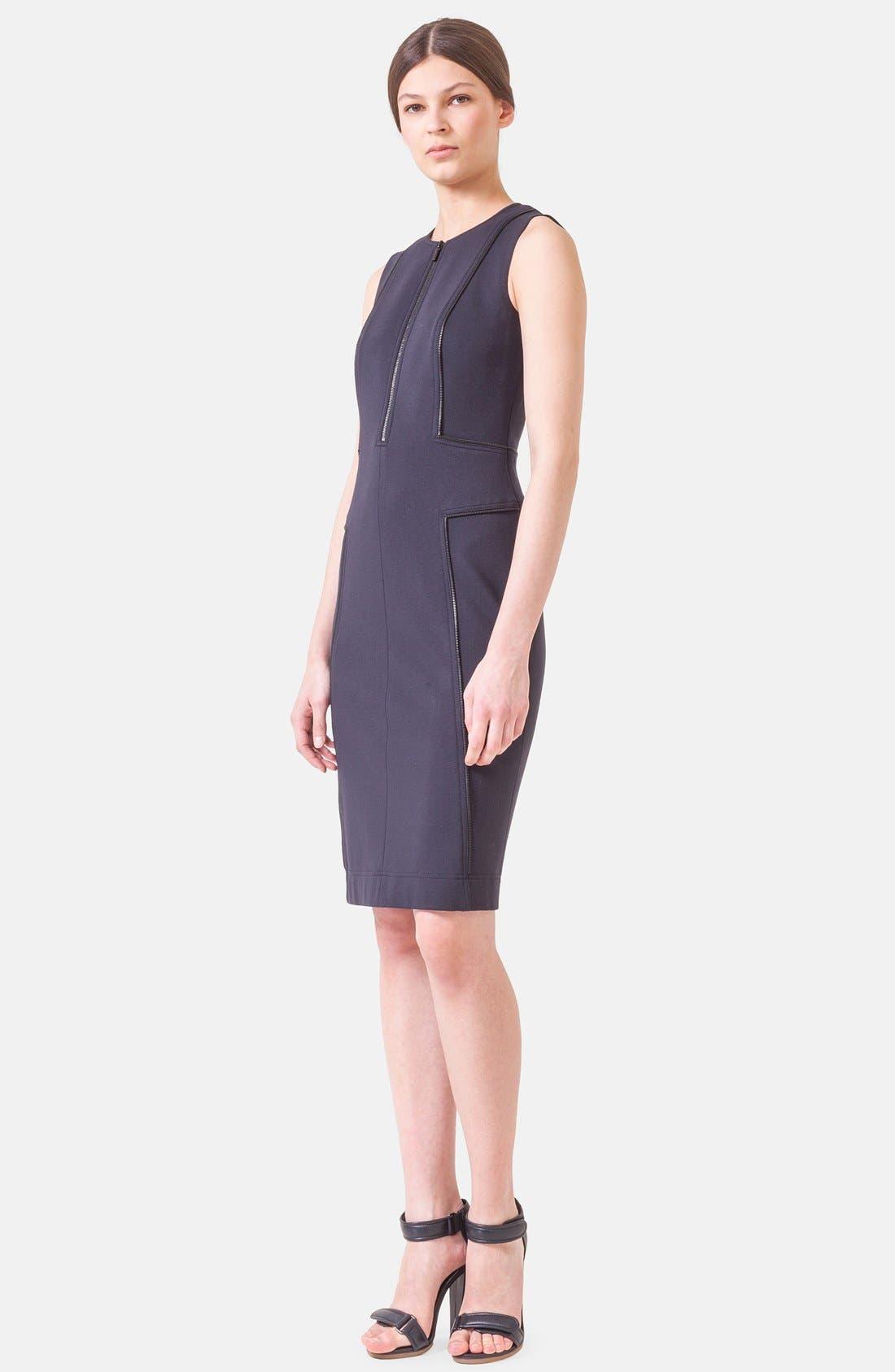 Alternate Image 3  - Akris punto Sleeveless Jersey Dress
