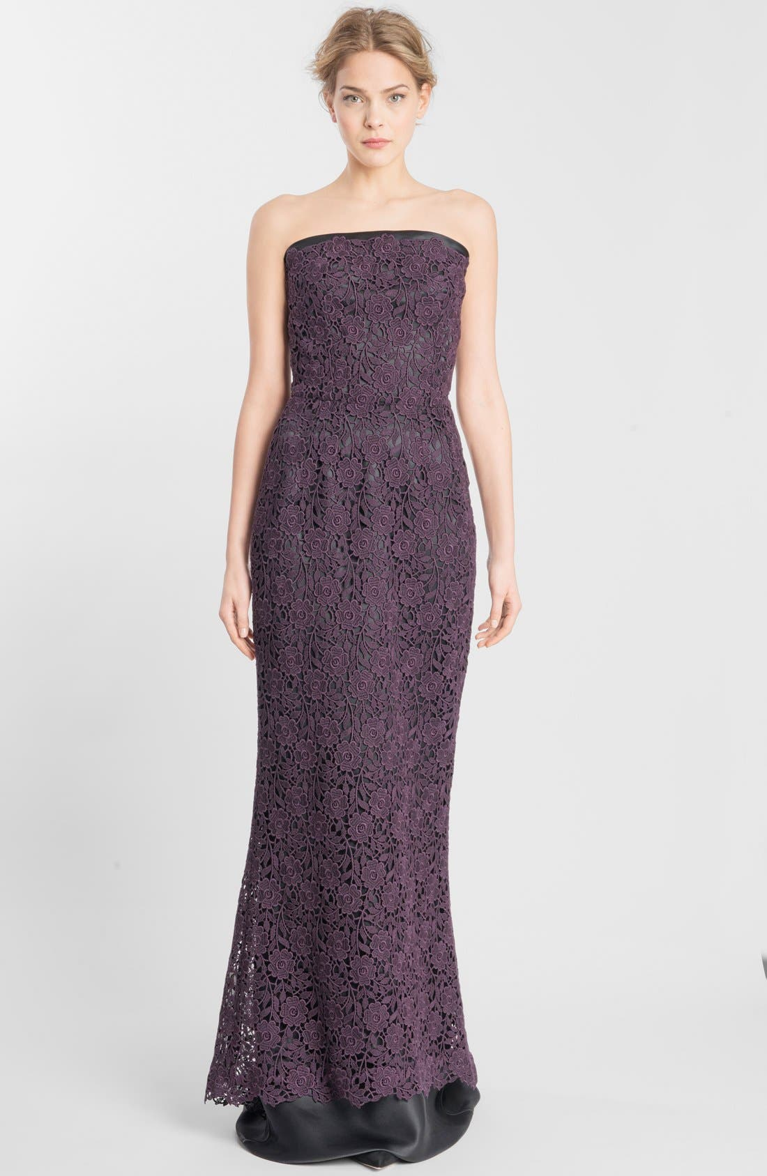 Alternate Image 1 Selected - Dolce&Gabbana Macramé Lace Gown