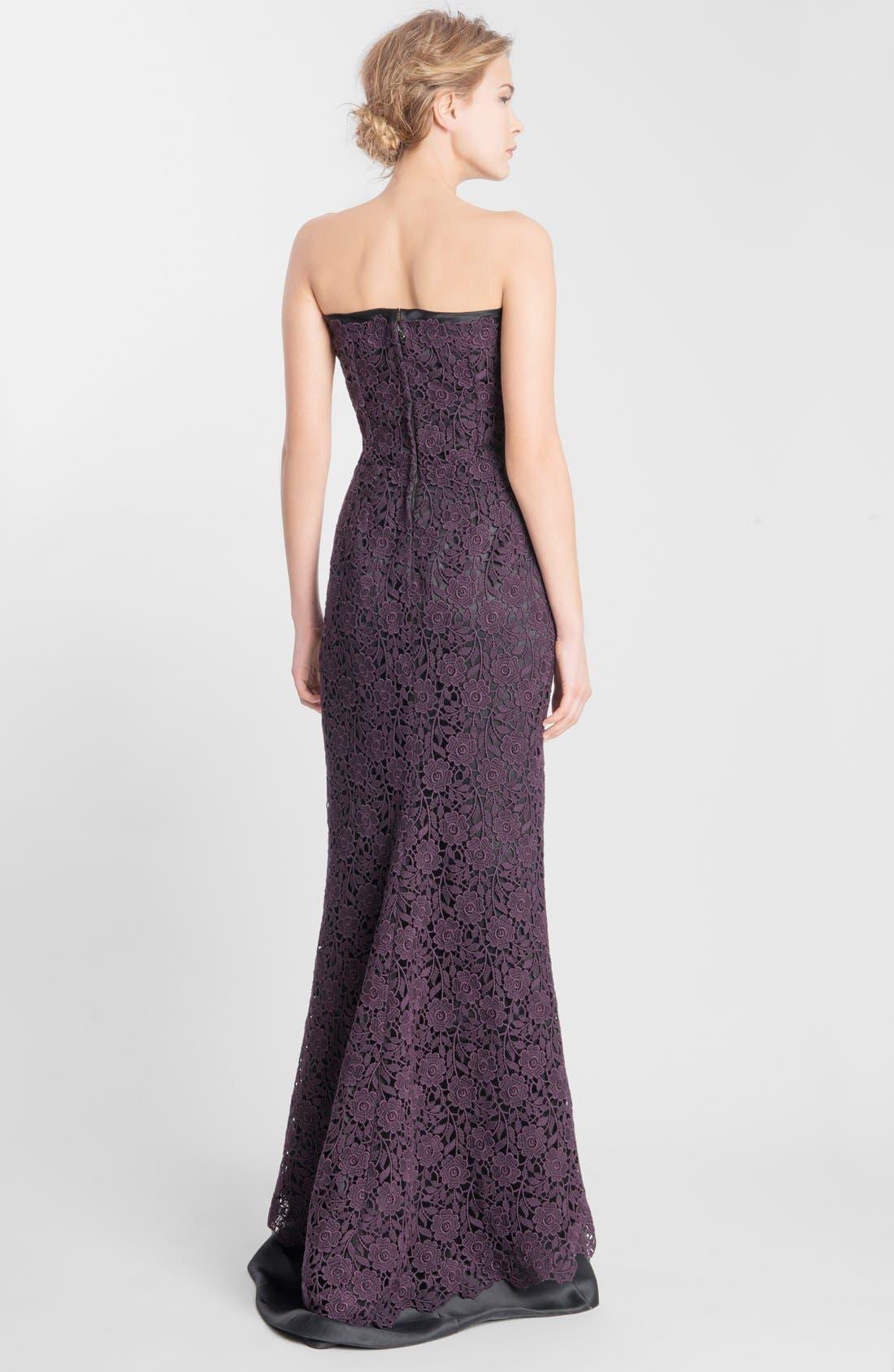 Alternate Image 2  - Dolce&Gabbana Macramé Lace Gown
