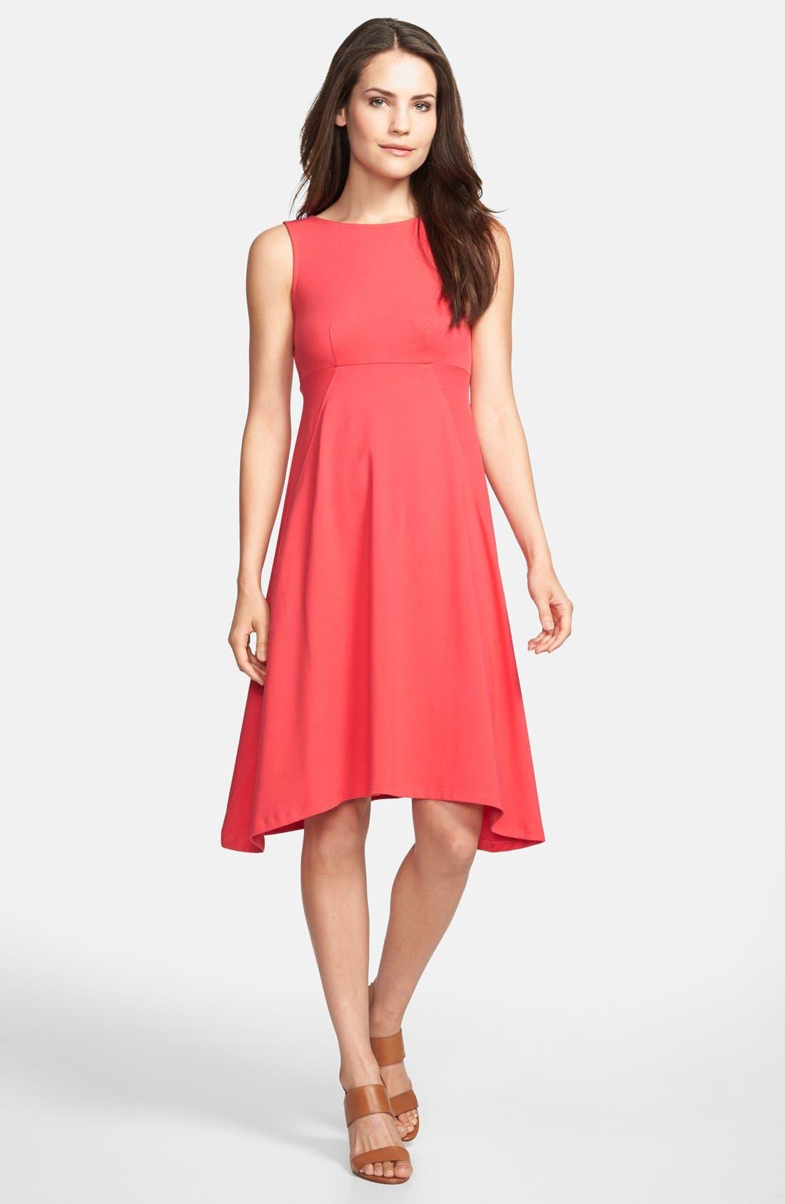 Alternate Image 1 Selected - Eileen Fisher Sleeveless Jersey Dress