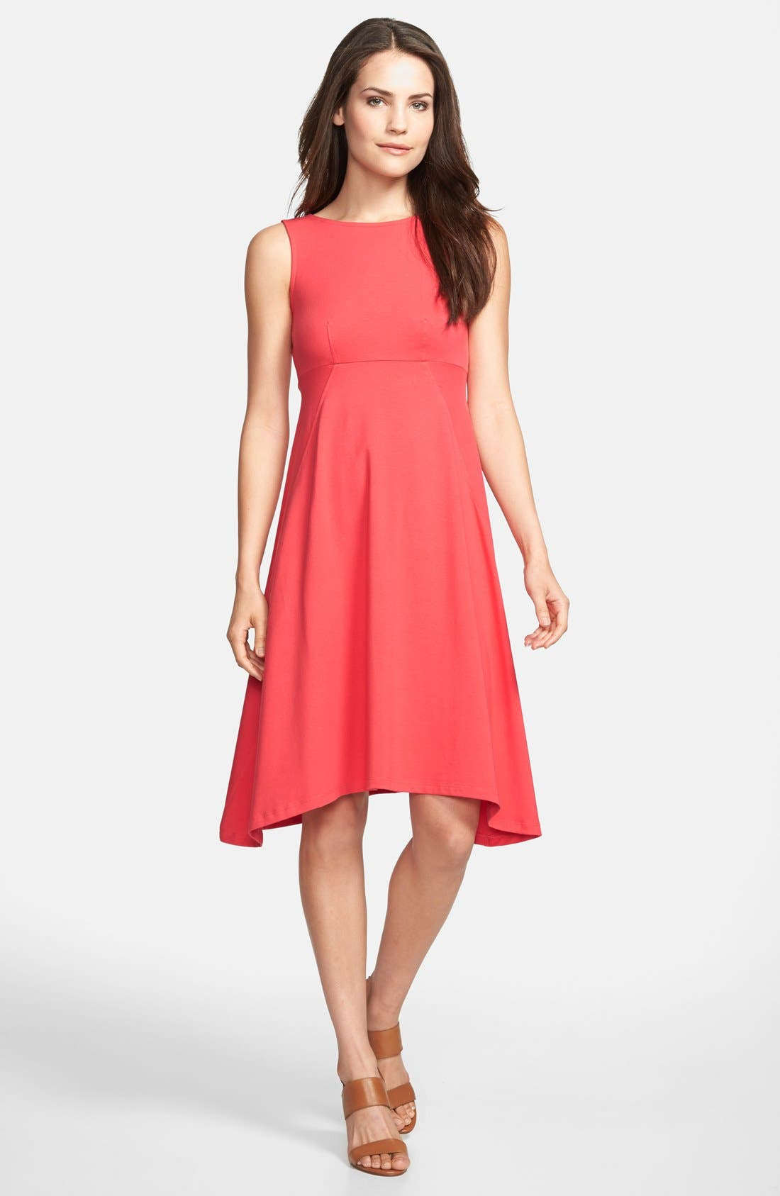 Main Image - Eileen Fisher Sleeveless Jersey Dress