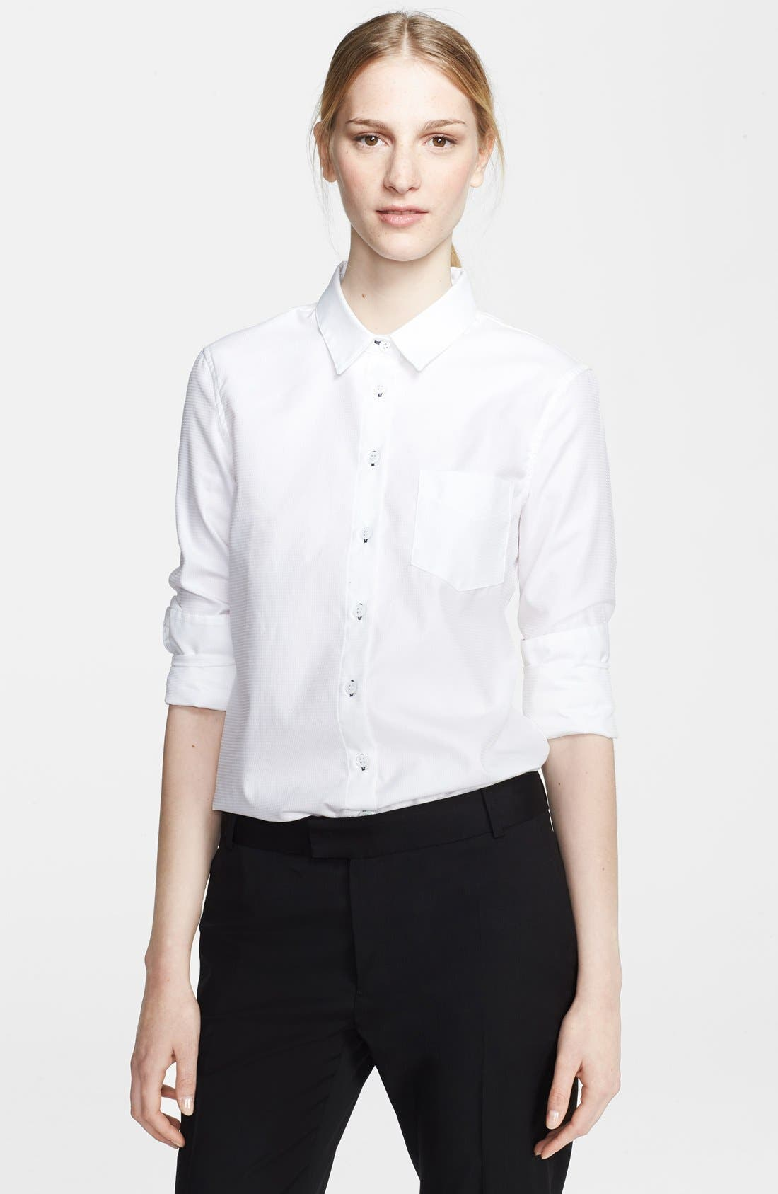 Main Image - Band of Outsiders Button Front Shirt