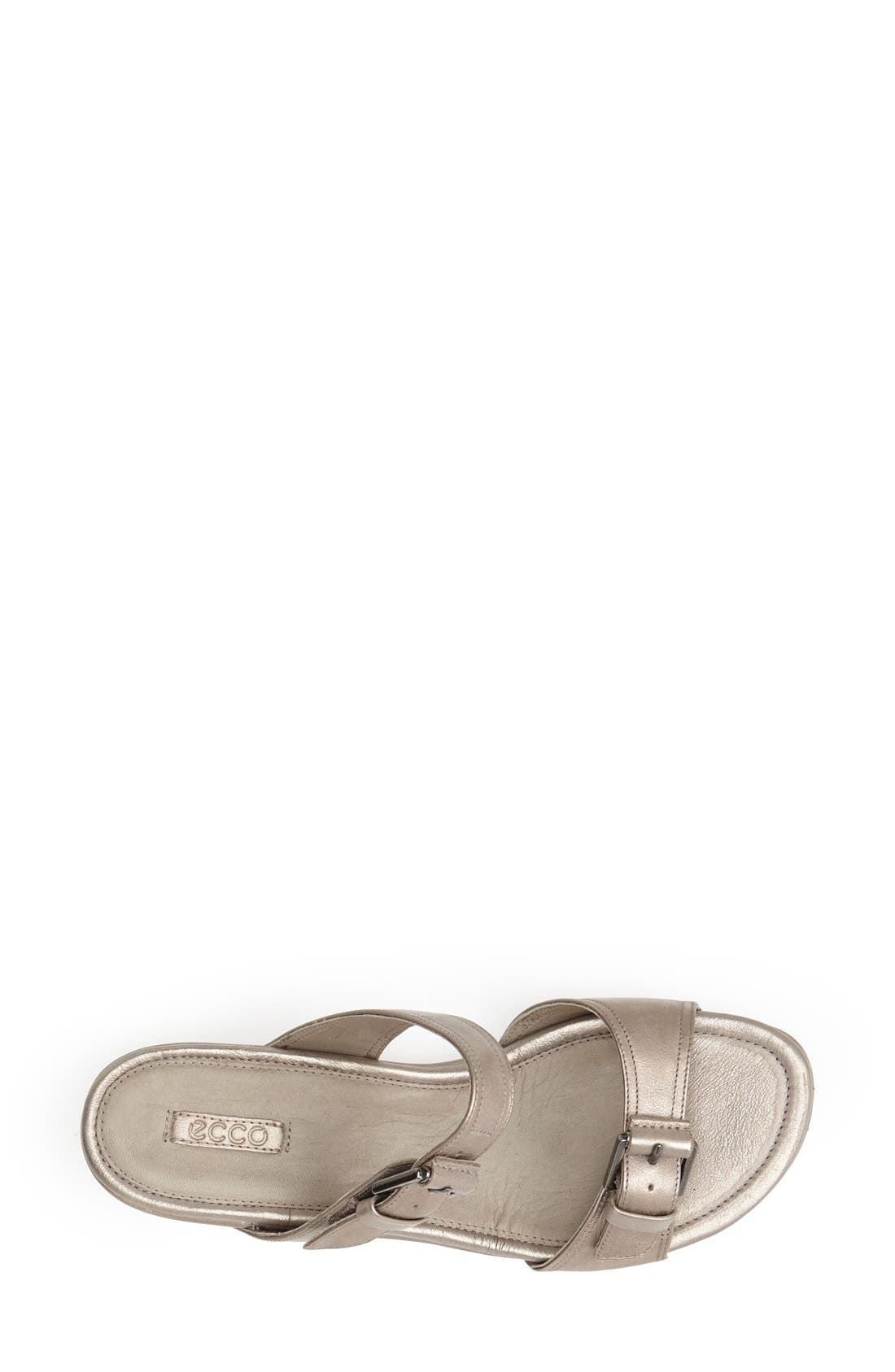 Alternate Image 3  - ECCO 'Touch 25' Leather Slide Sandal