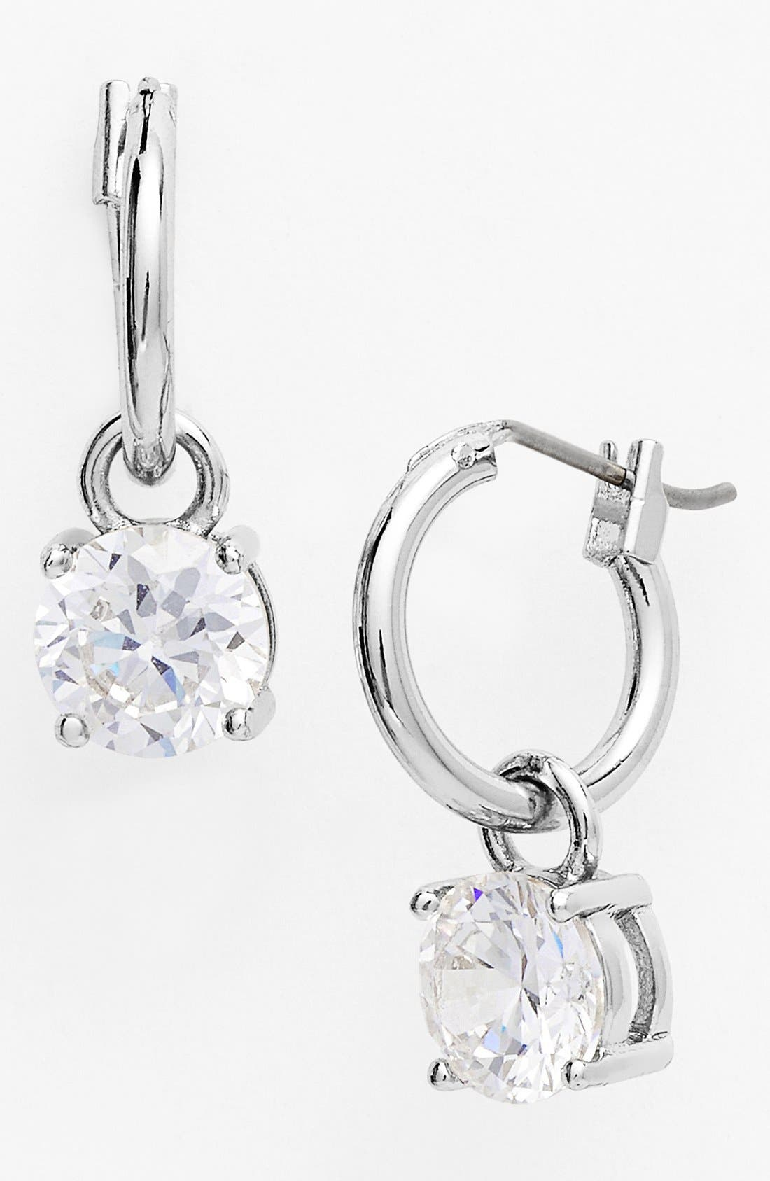 Alternate Image 1 Selected - Anne Klein Cubic Zirconia Drop Earrings