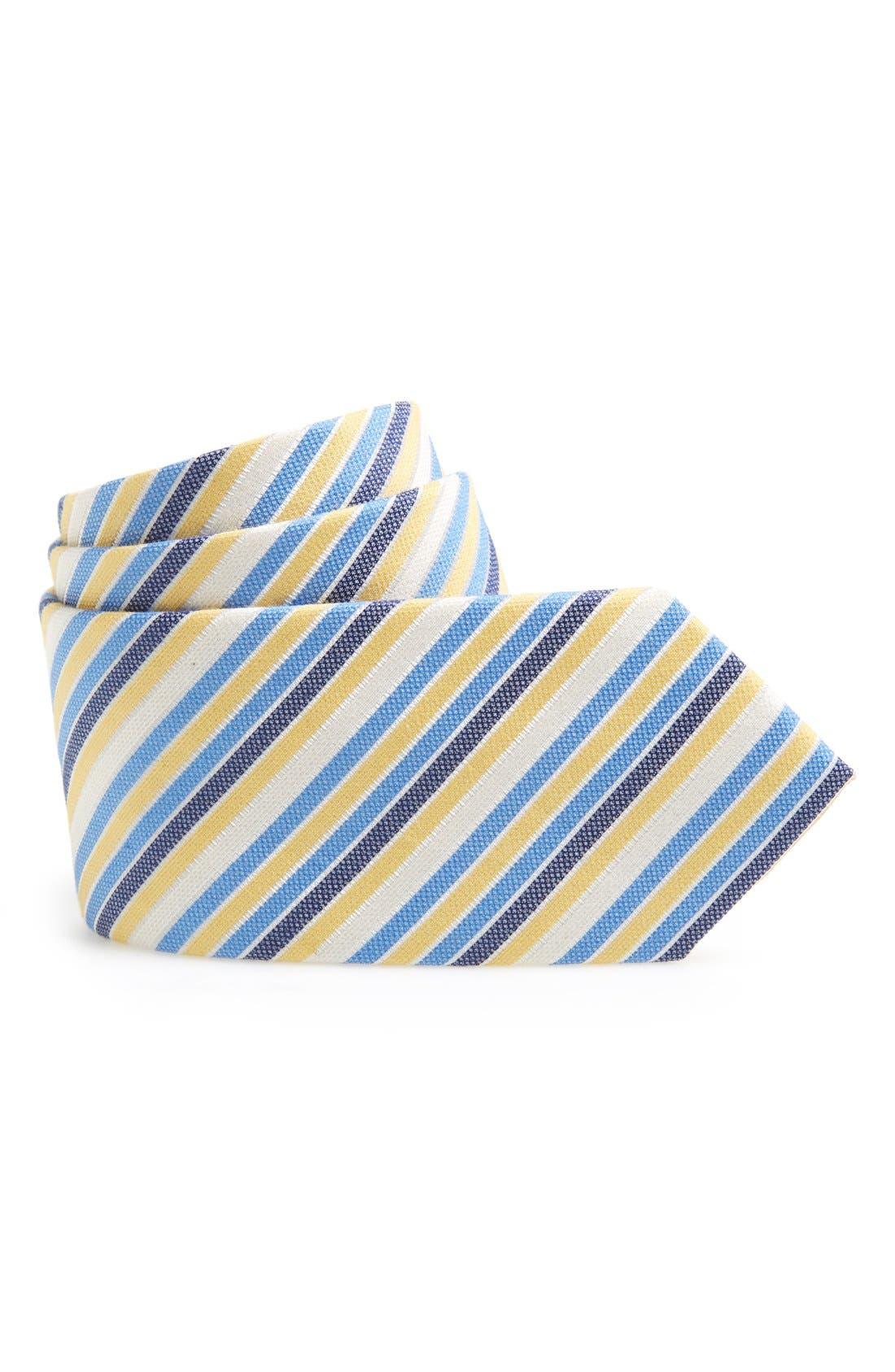 Main Image - Nordstrom Cotton & Silk Tie (Big Boys)