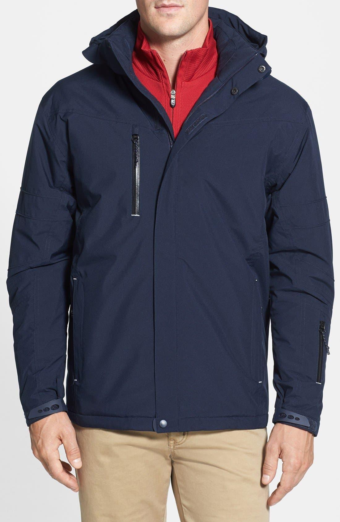 Alternate Image 1 Selected - Cutter & Buck WeatherTec Sanders Jacket (Big & Tall)
