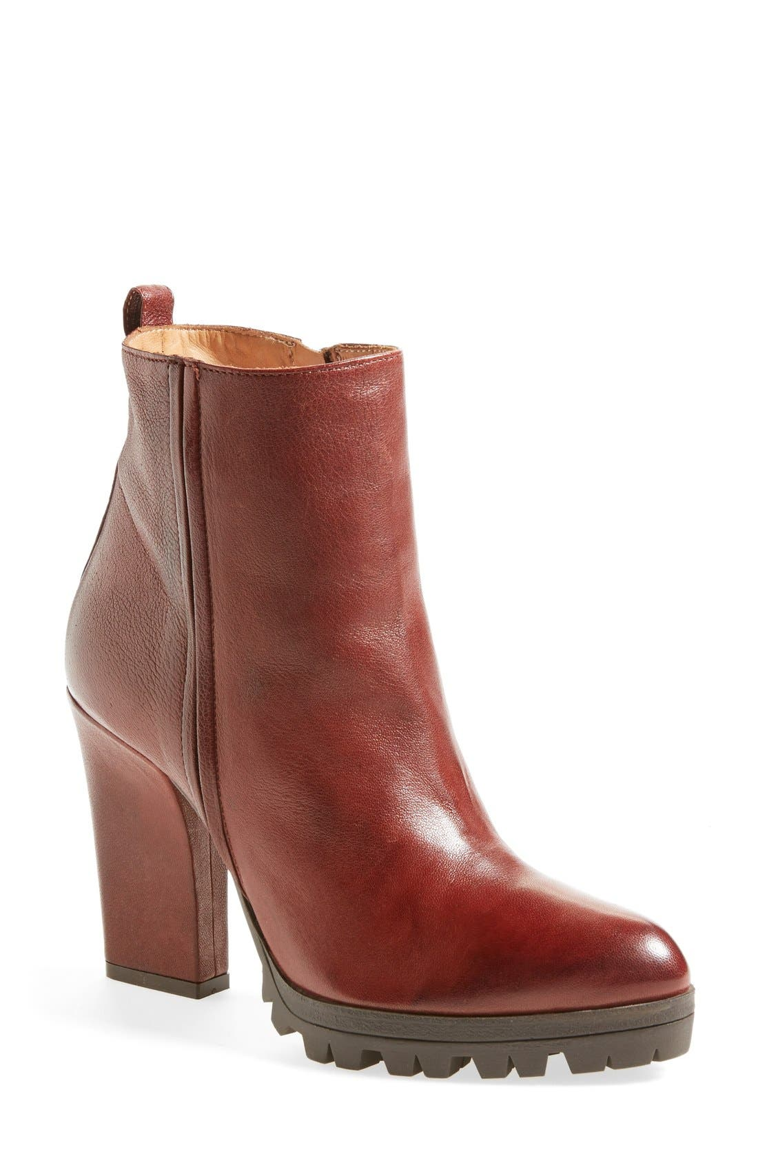 Main Image - Alberto Fermani 'Vervelli' Lugged Sole Bootie (Women)