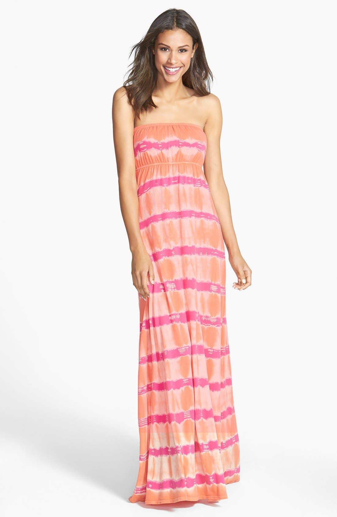 Main Image - Hard Tail Long Strapless Dress