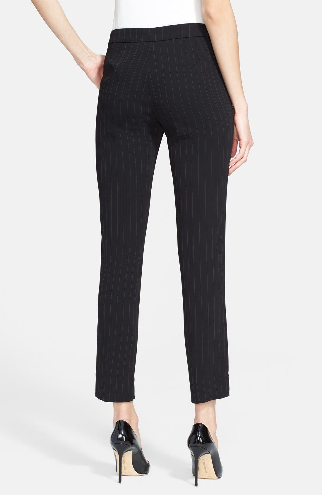 Alternate Image 2  - Armani Collezioni Pinstripe Pants
