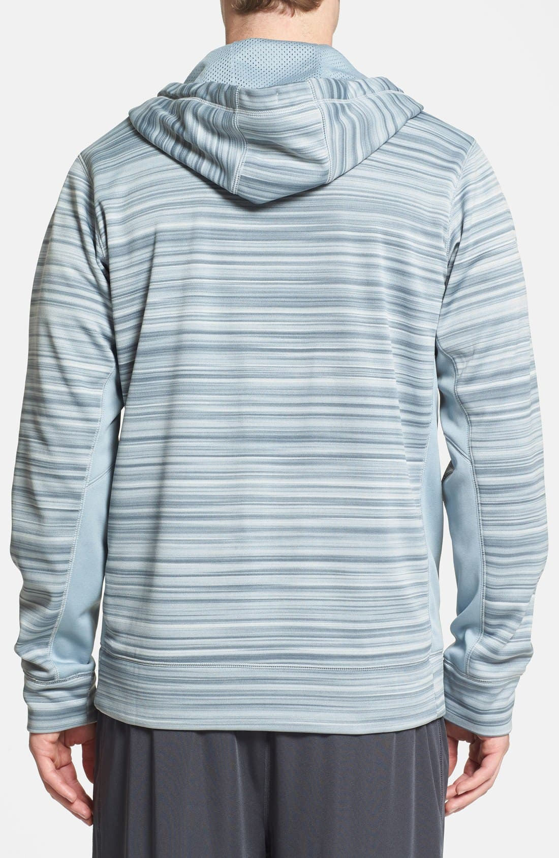 Alternate Image 2  - Nike 'KO Hyperblur' Full Zip Therma-FIT Hoodie
