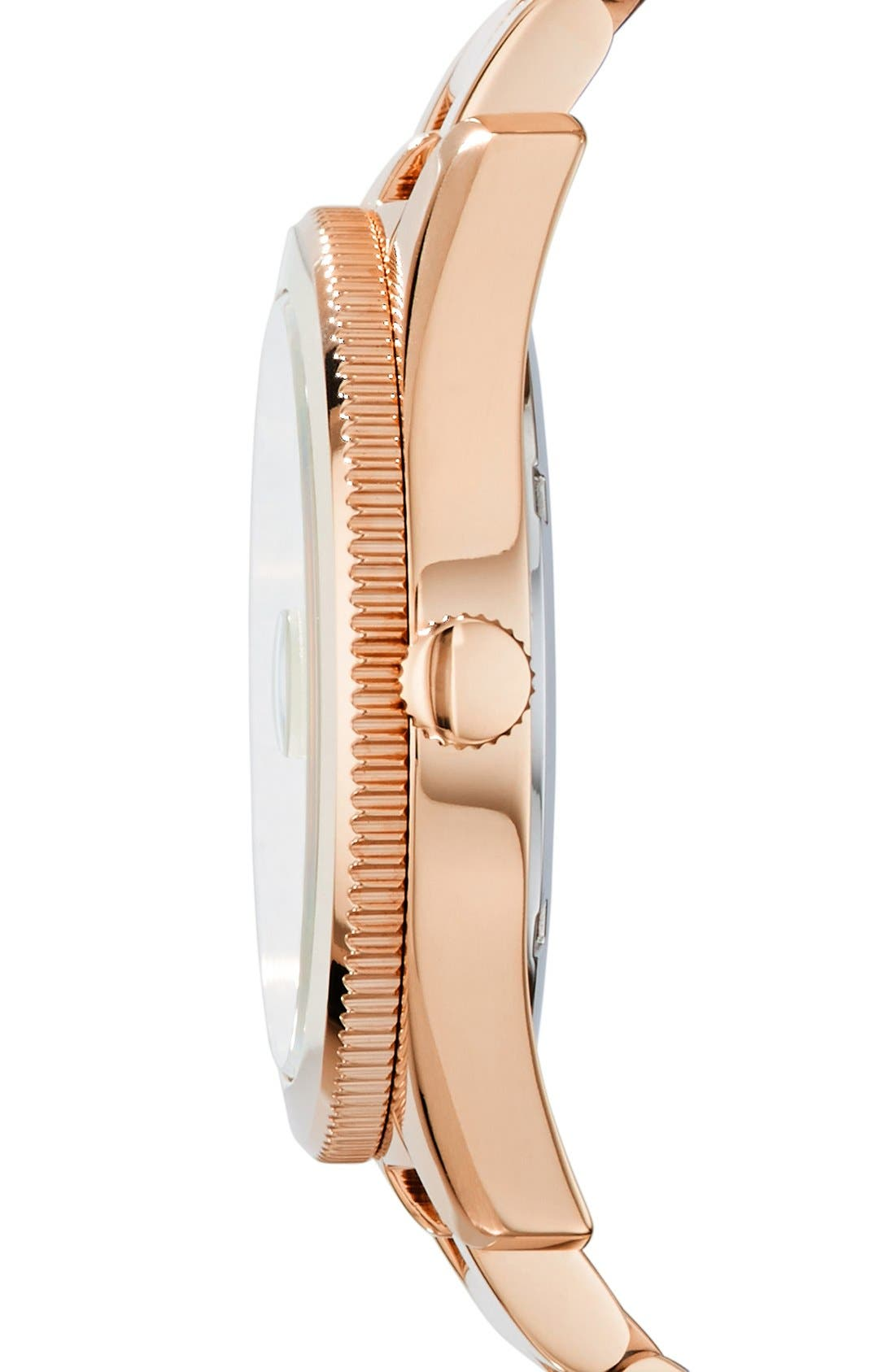 Alternate Image 3  - Fossil Perfect Boyfriend Bracelet Watch, 39mm