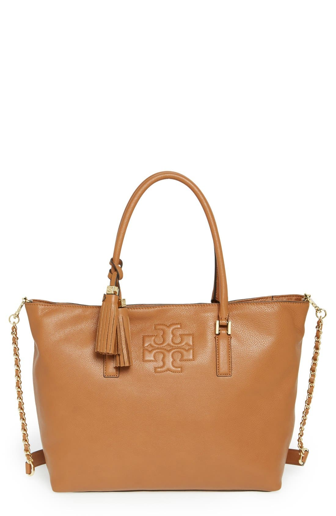 Alternate Image 1 Selected - Tory Burch 'Thea' Leather Tote