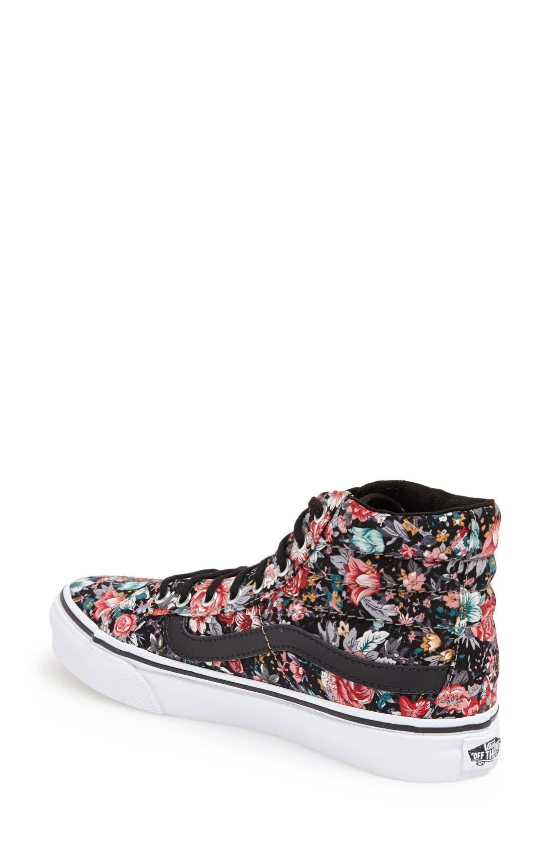 Alternate Image 2  - Vans 'Sk8-Hi - Slim' Sneaker (Women)
