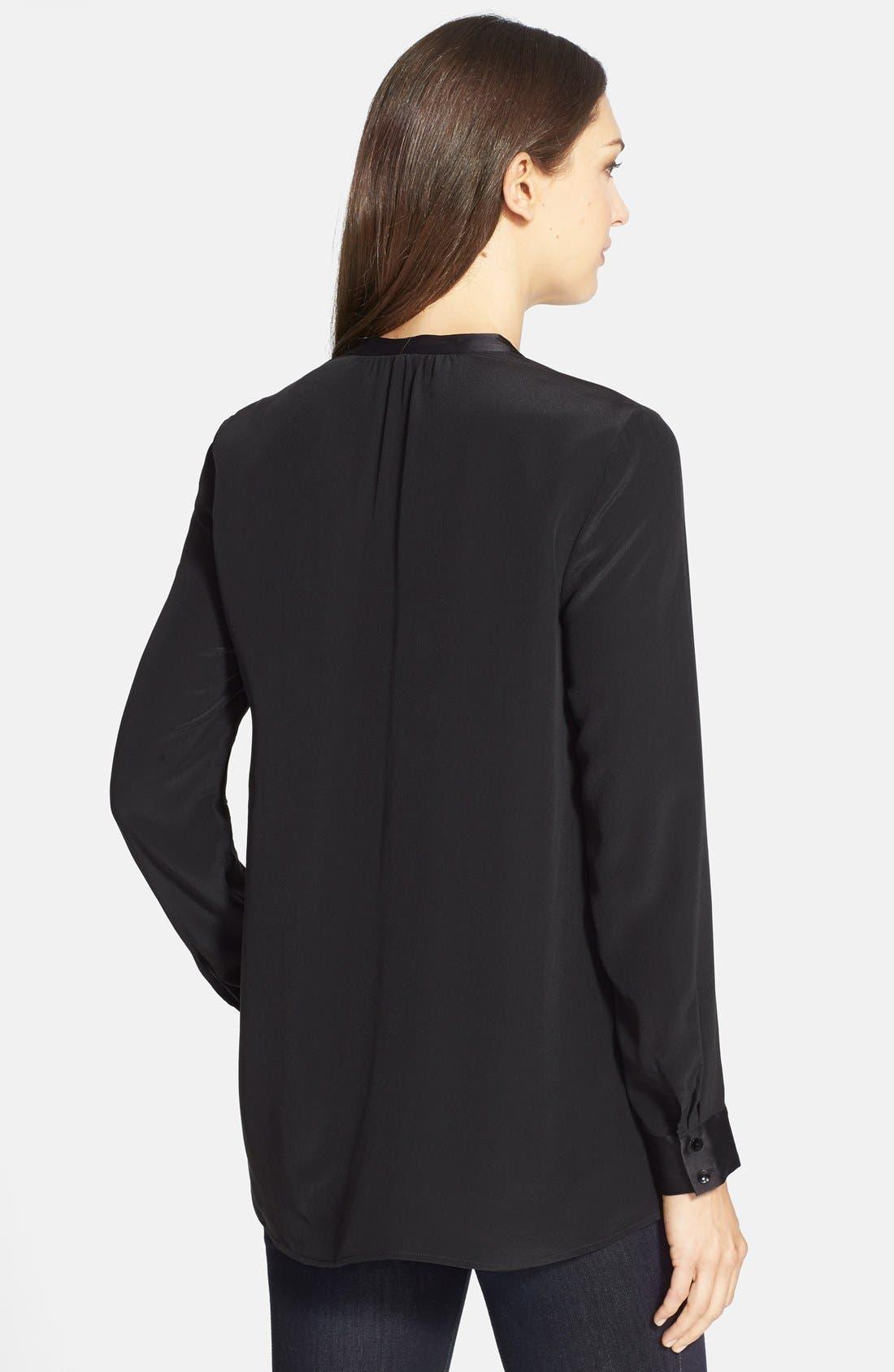 Alternate Image 2  - Eileen Fisher Long Silk Shirt (Online Only)