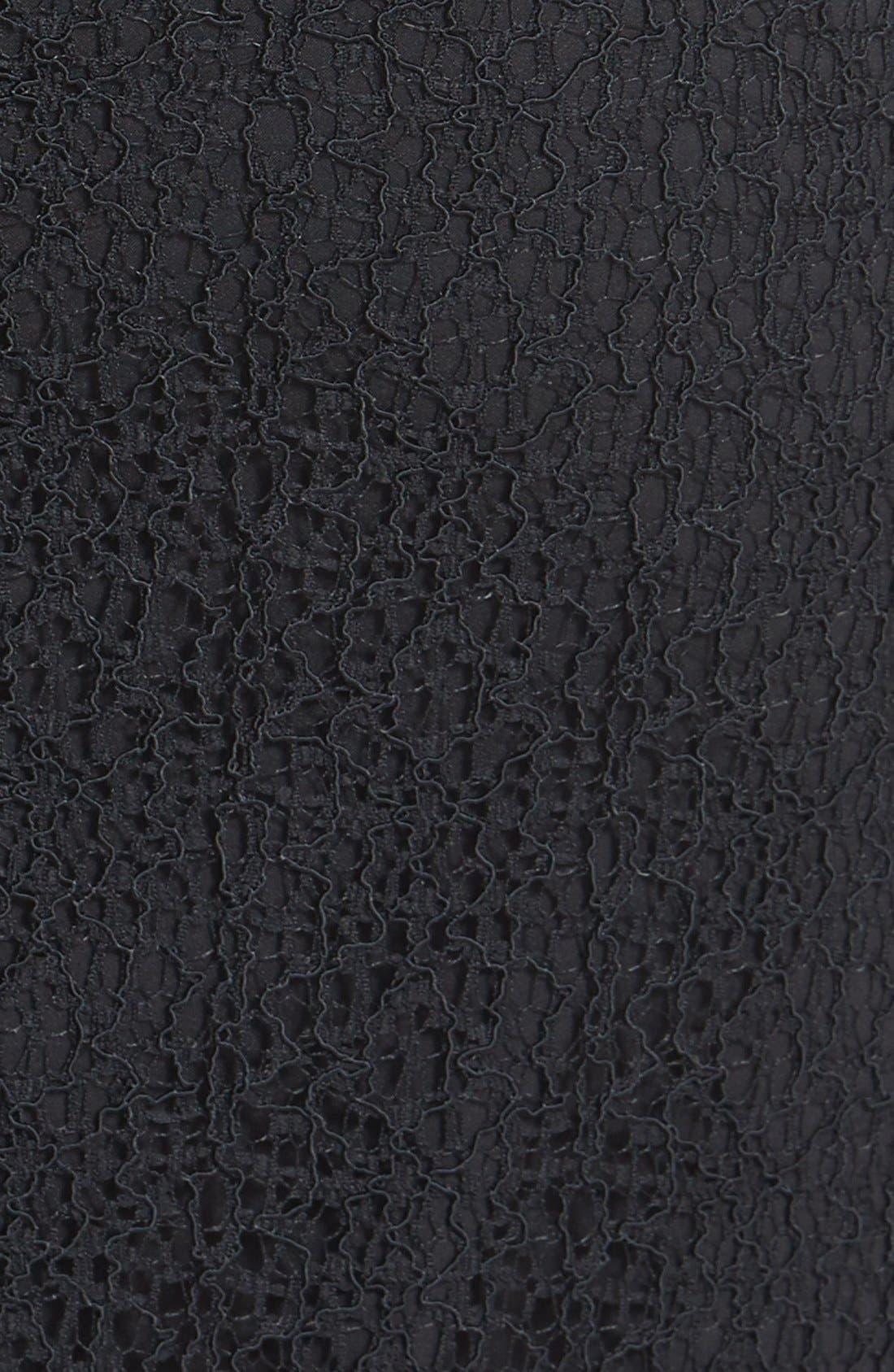 Alternate Image 3  - Halogen® 'Avalon' Lace Pencil Skirt (Petite)