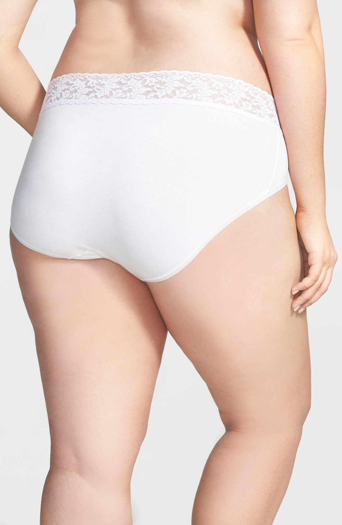 Alternate Image 2  - Hanky Panky 'Cotton with a Conscience®' French Briefs (Plus Size)