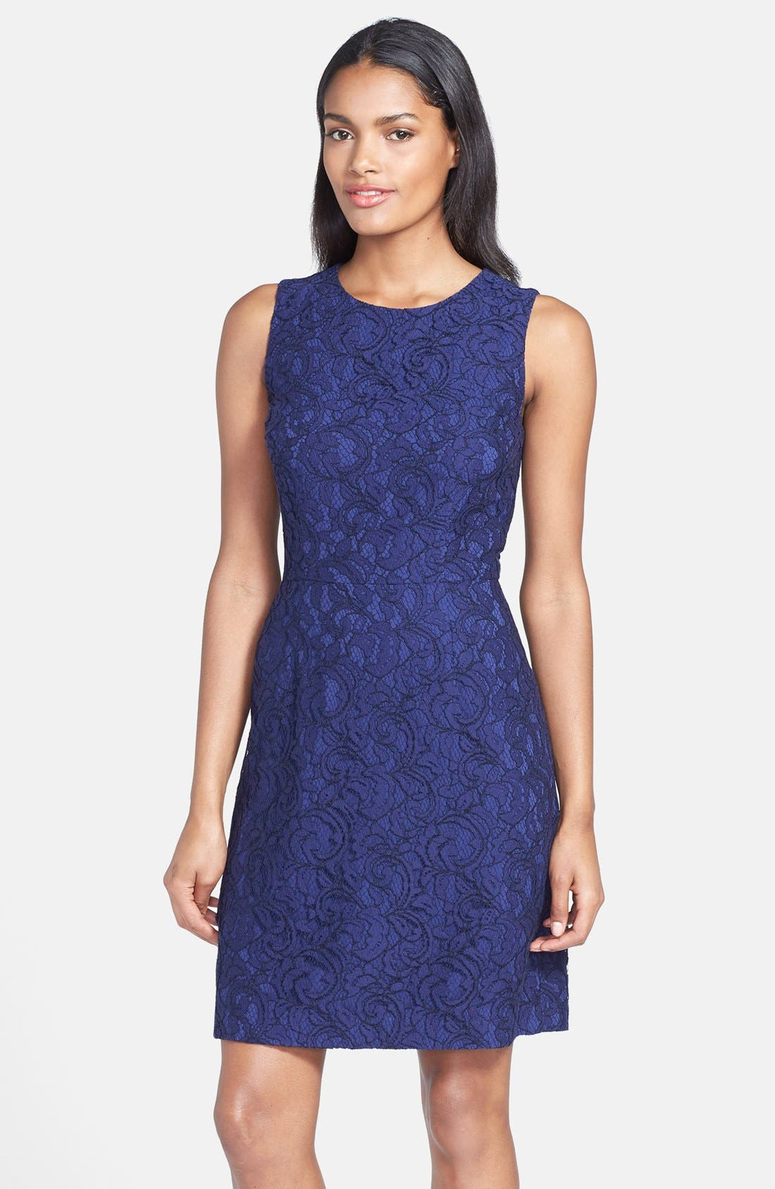 Main Image - Cynthia Steffe 'Garland' Lace Sheath Dress