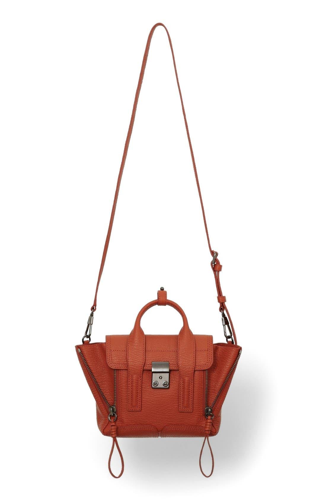 Alternate Image 1 Selected - 3.1 Phillip Lim 'Mini Pashli' Leather Satchel