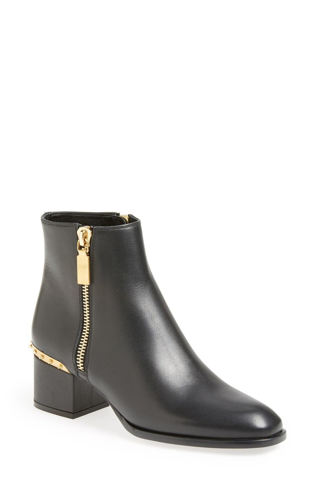Main Image - Alexander McQueen Spike Short Boot (Women)