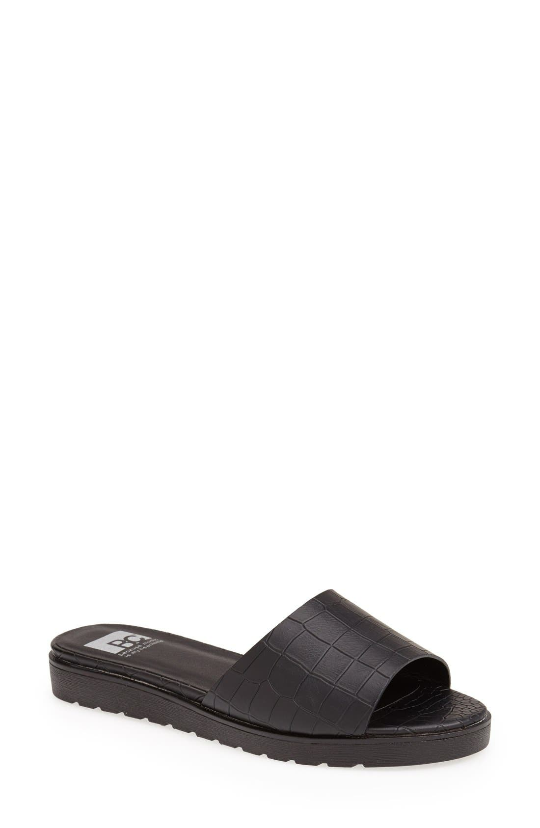 Alternate Image 1 Selected - BC Footwear 'Inspiration' Slide Sandal (Women)