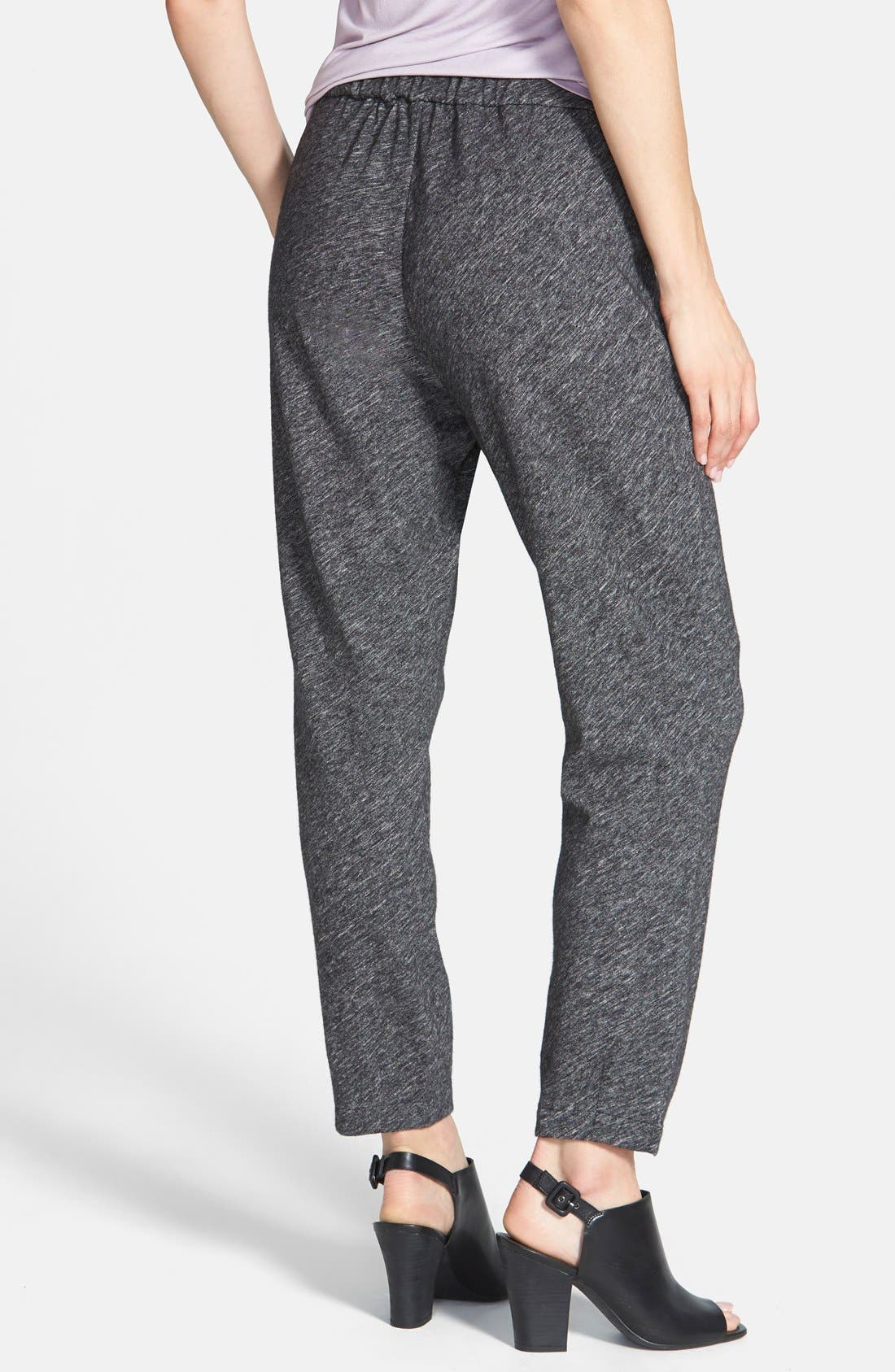 Alternate Image 2  - Eileen Fisher Cotton & Wool Blend Slouchy Ankle Pants