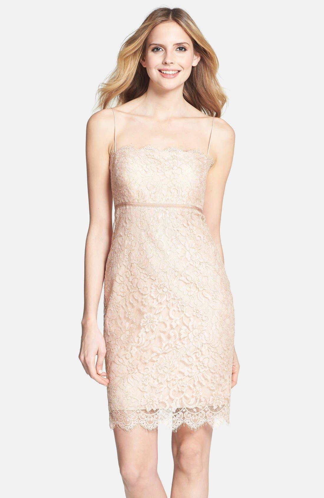 Alternate Image 1 Selected - Jenny Yoo 'Cosette' Lace Dress
