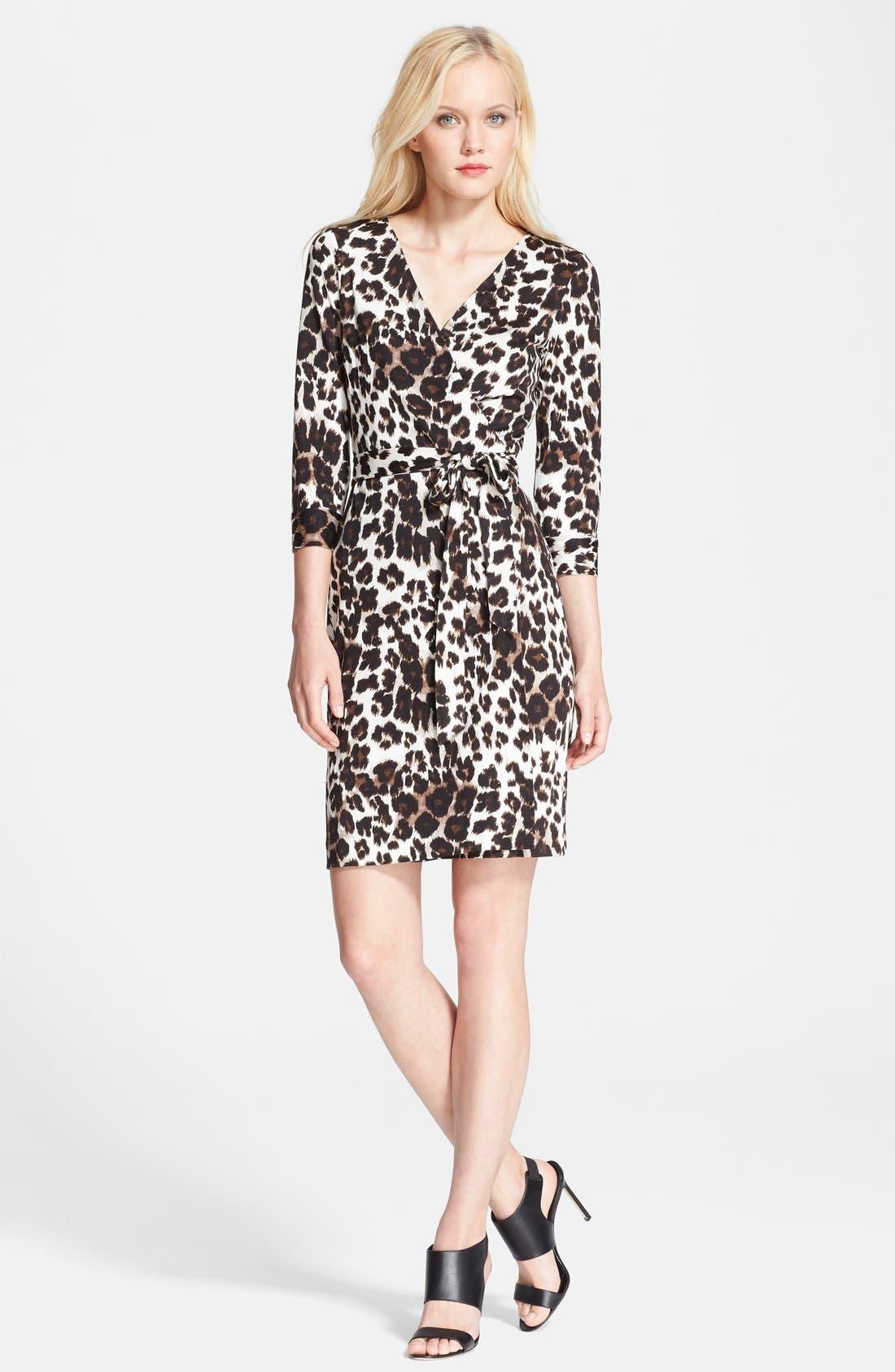 Alternate Image 1 Selected - Diane von Furstenberg 'New Julian Two' Silk Wrap Dress