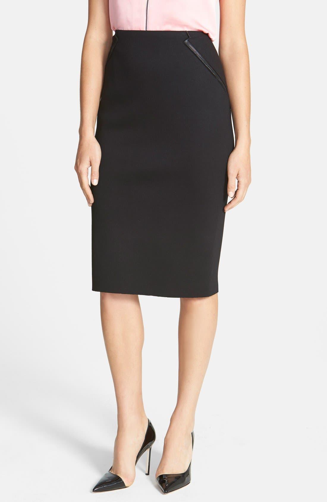 Main Image - Elie Tahari 'Harla' Knit Skirt