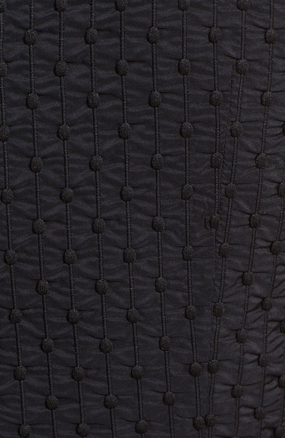 Alternate Image 3  - Tory Burch 'Ivana' Corded Dot Sheath Dress
