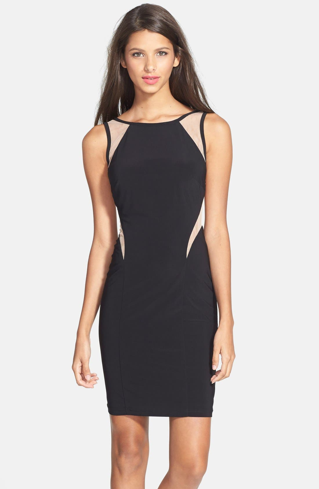 Main Image - Hailey by Adrianna Papell Illusion Cutout Body-Con Dress