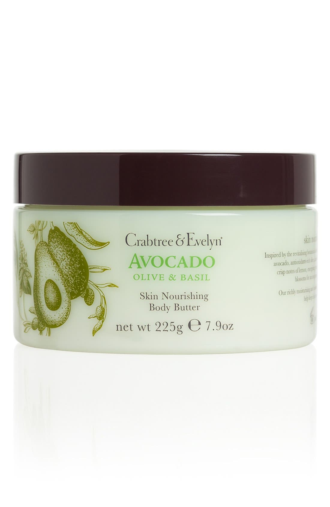 Crabtree & Evelyn 'Avocado, Olive & Basil' Skin Nourishing Body Butter
