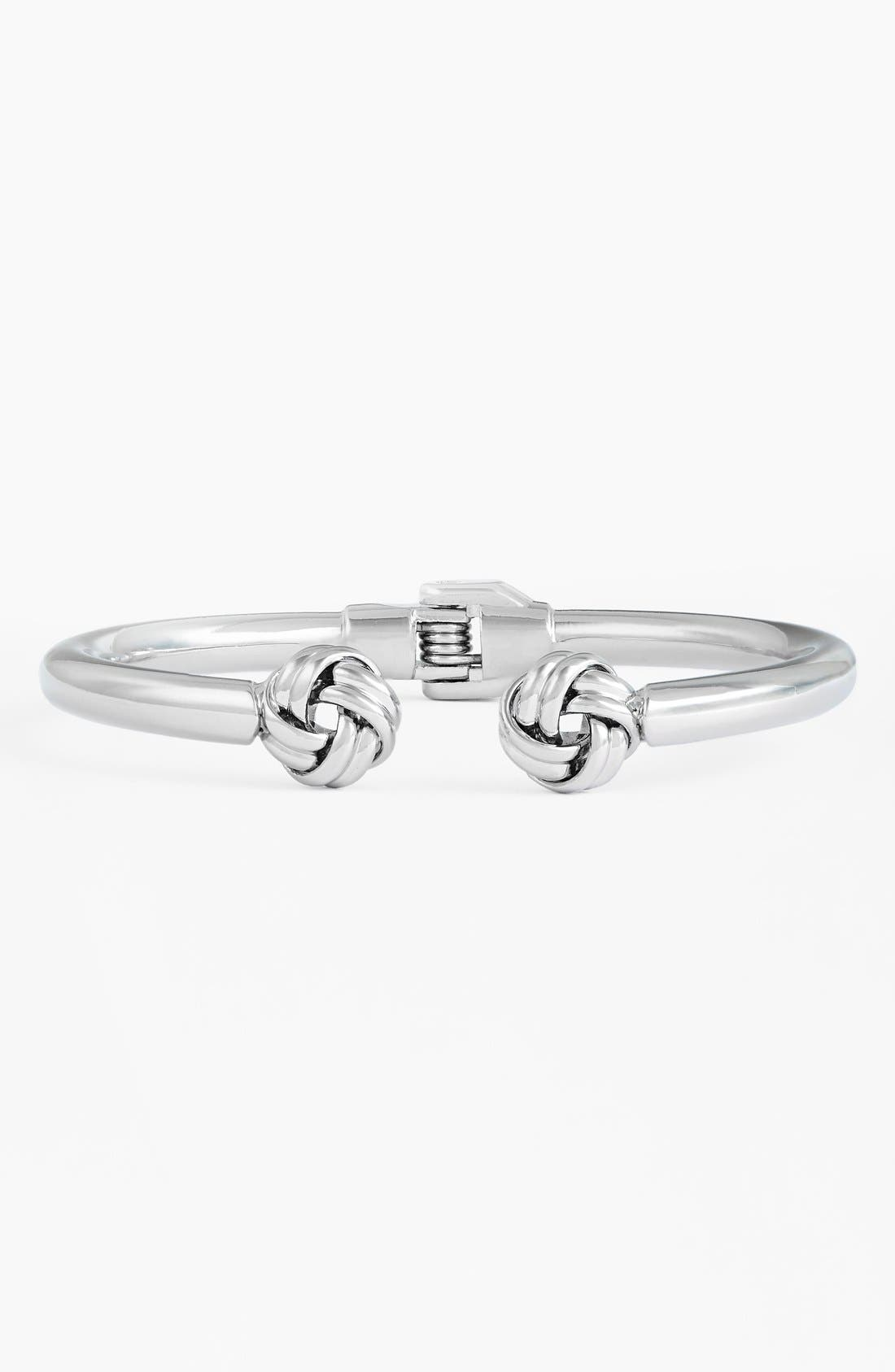 Alternate Image 1 Selected - Cara 'Knot End' Hinged Cuff