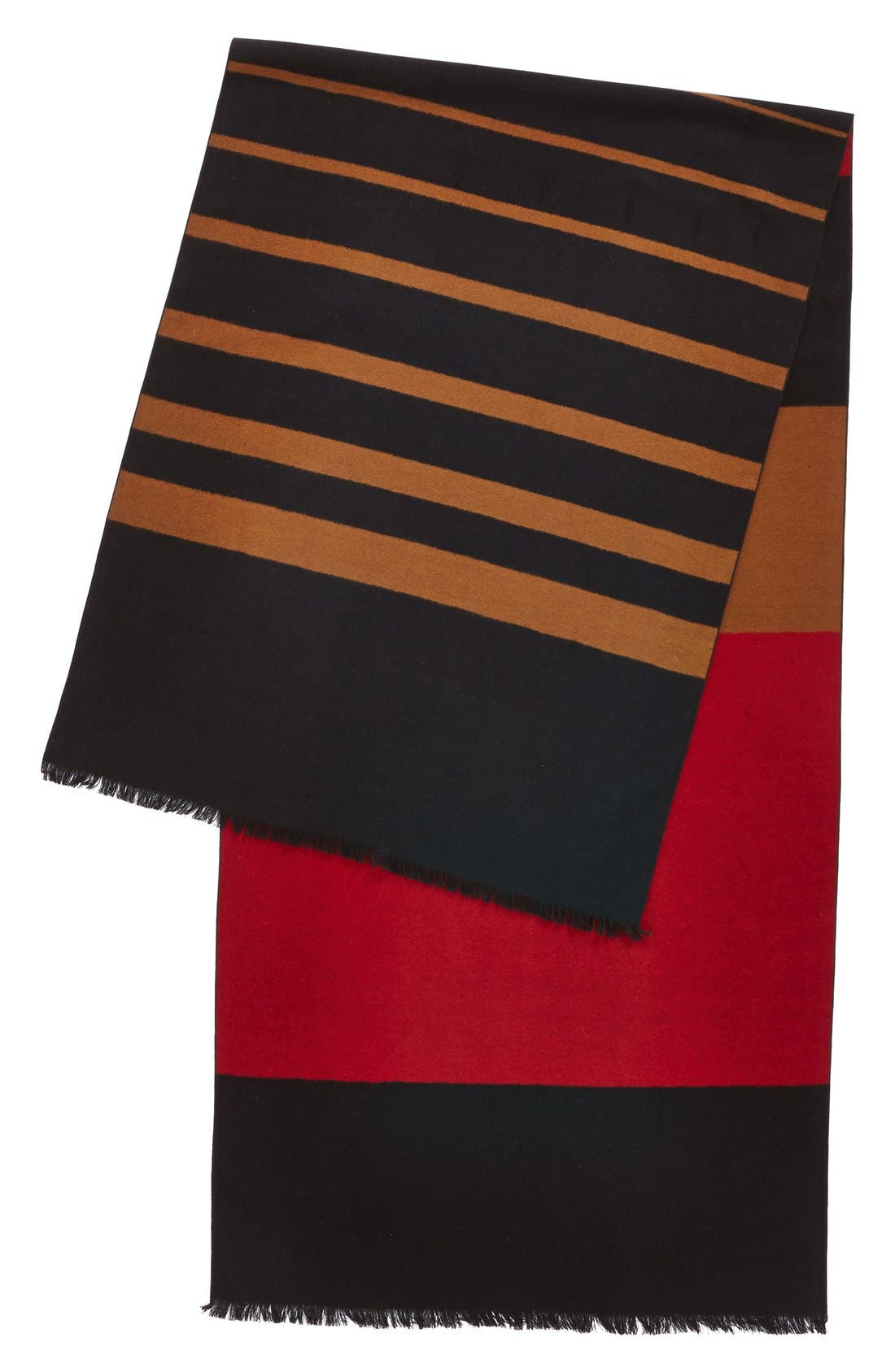 Alternate Image 2  - Chelsey Striped Silk Wrap