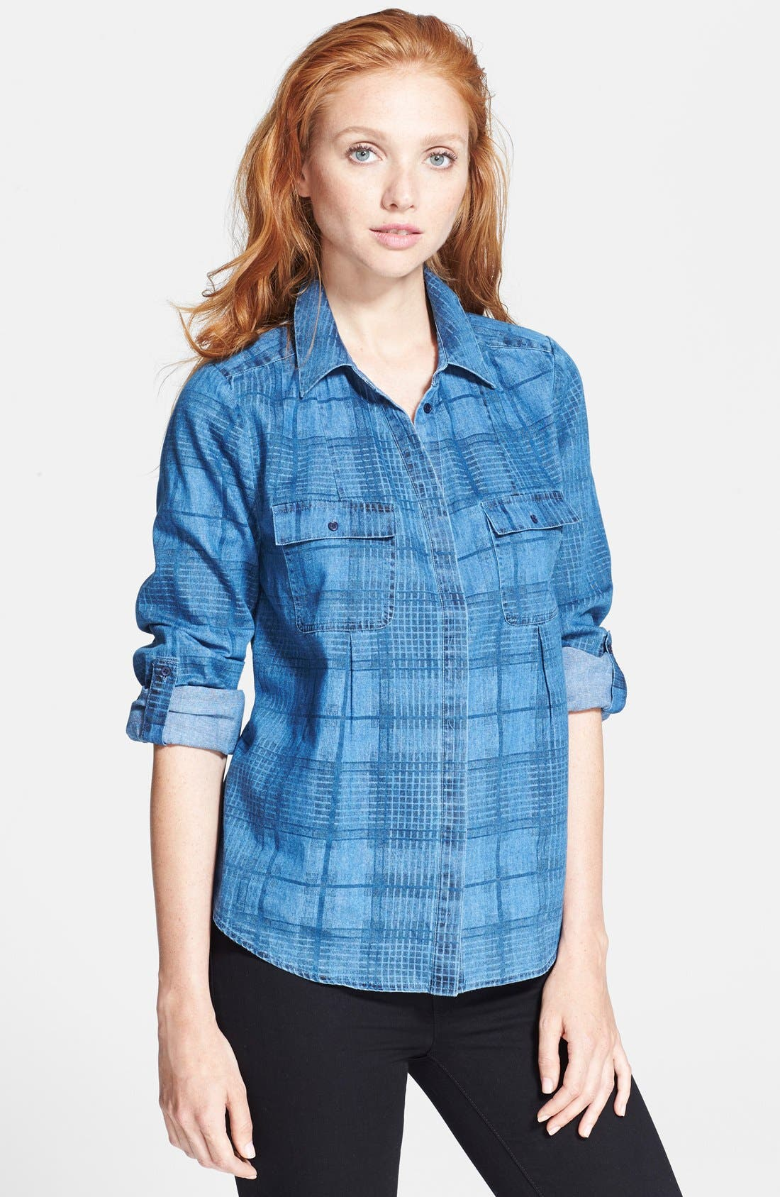 Alternate Image 1 Selected - Joie 'Ciril' Chambray Shirt