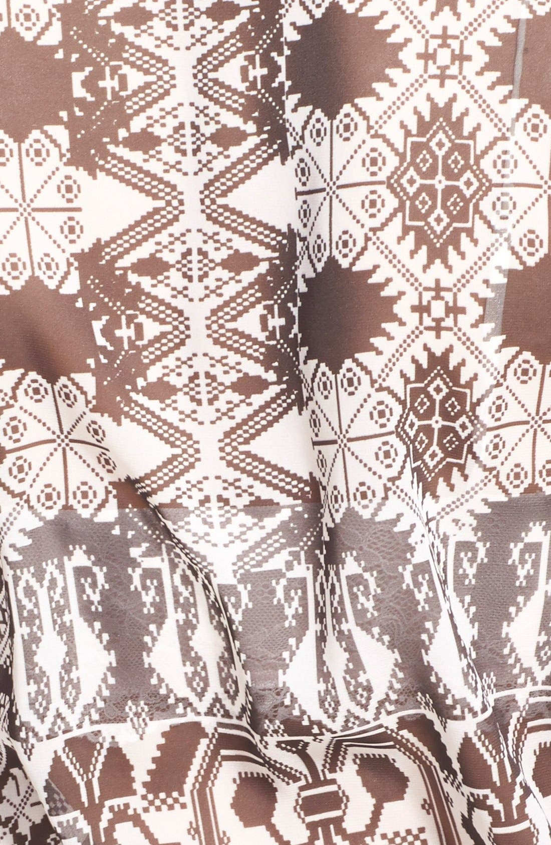 Alternate Image 3  - Wayf Long Sleeve Wrap Dress
